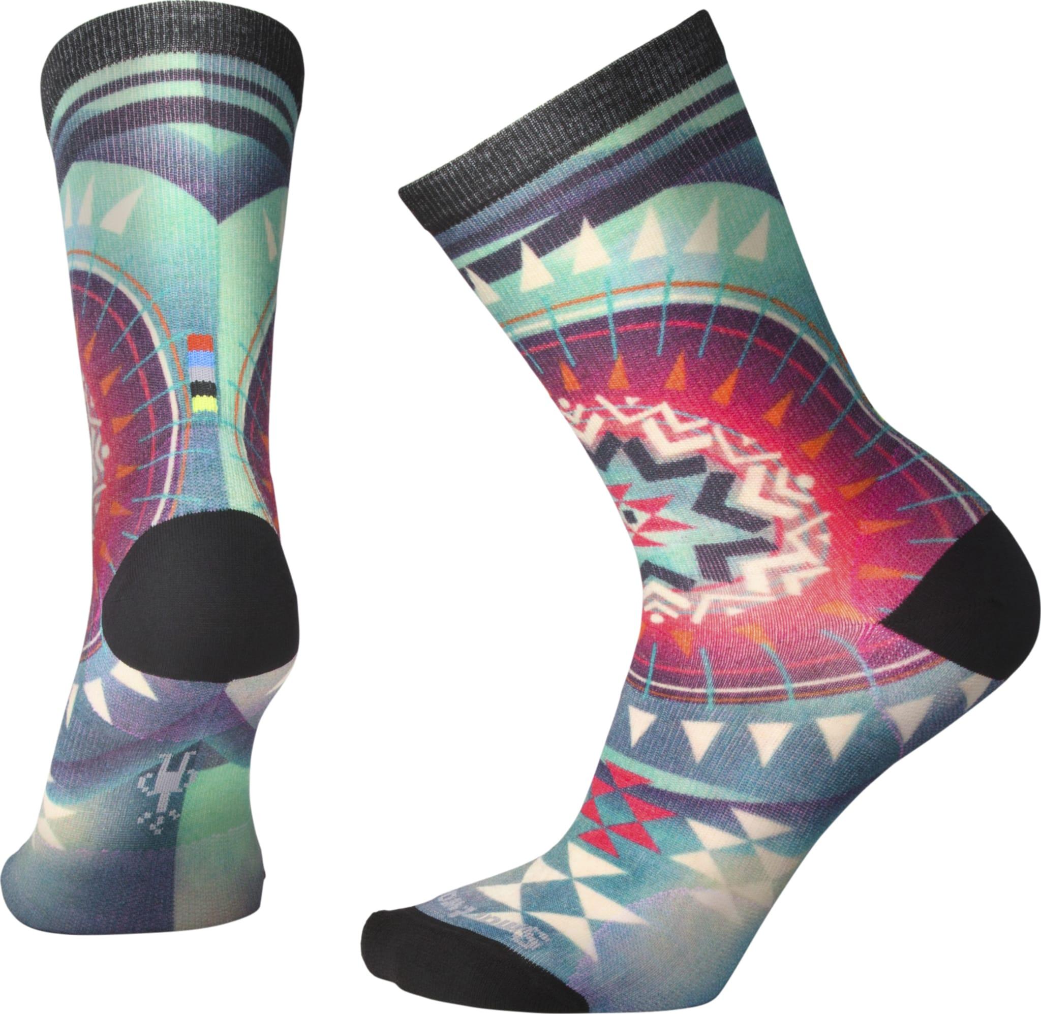 Behagelige sokker med spenstig print