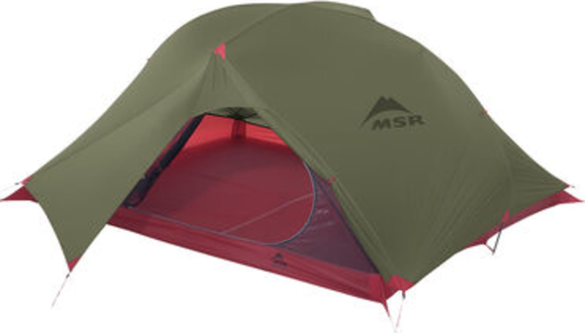 Superlett telt for tre personer vår, sommer og høst