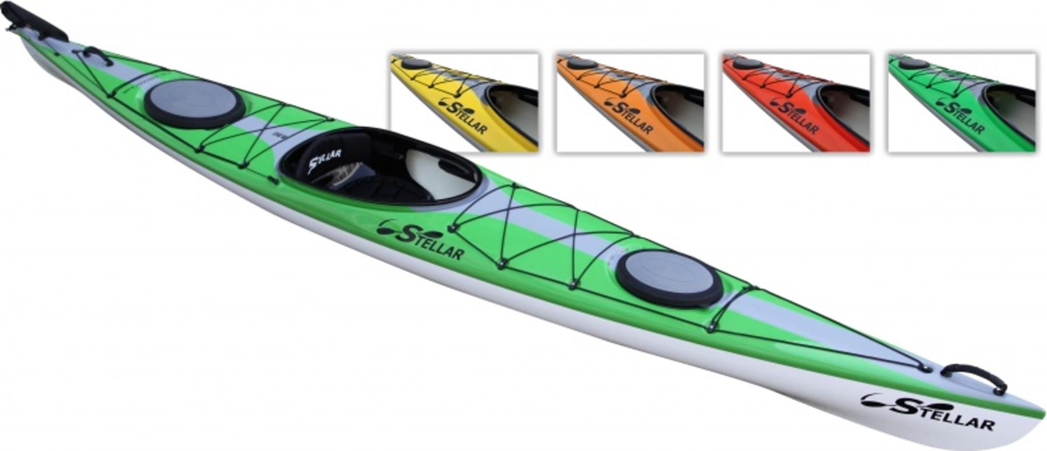 Lettpadlet og stabil kajakk for de litt lettere padlerne!