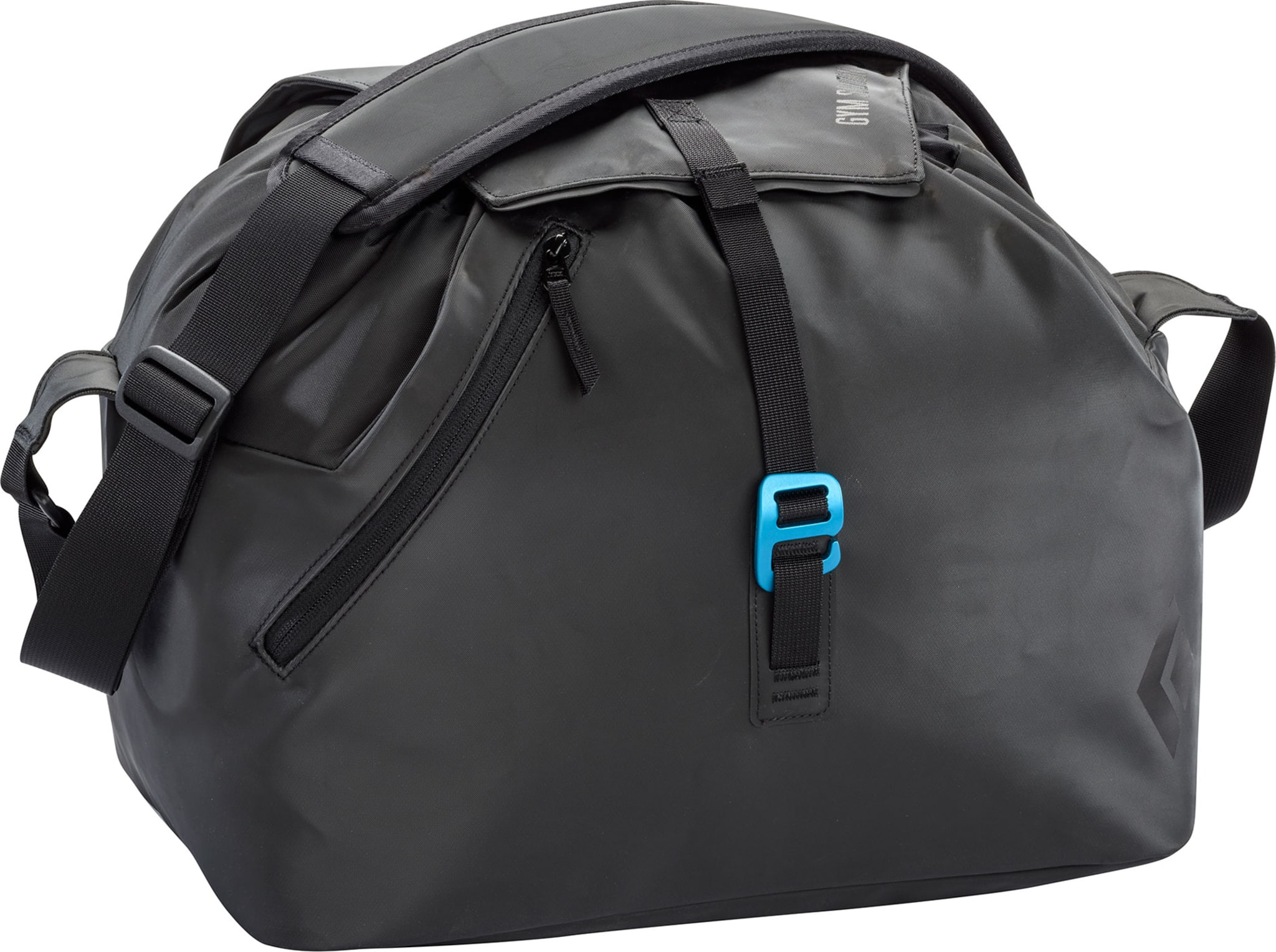 Praktisk treningsbag for inneklatring med plass til tau