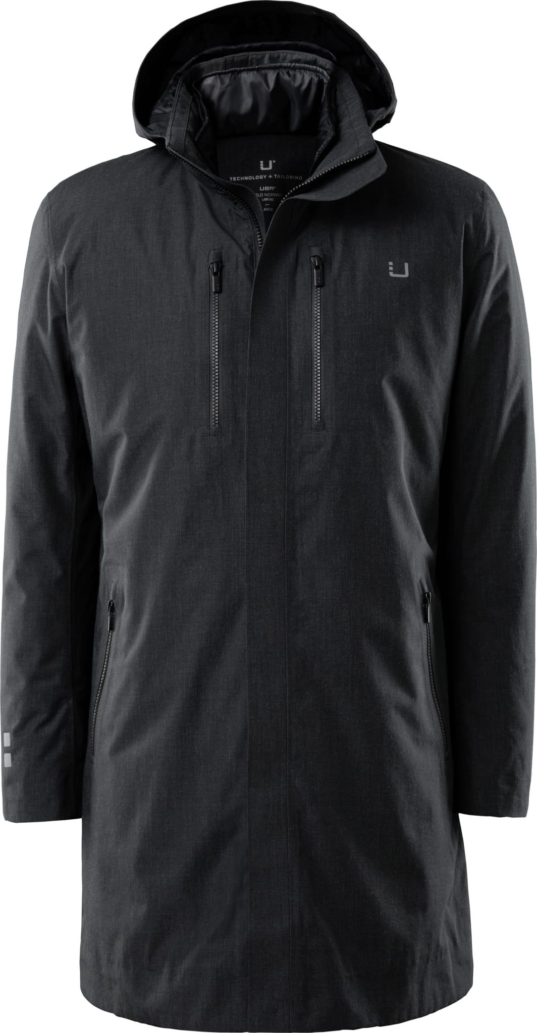 Black Storm Coat DELTA