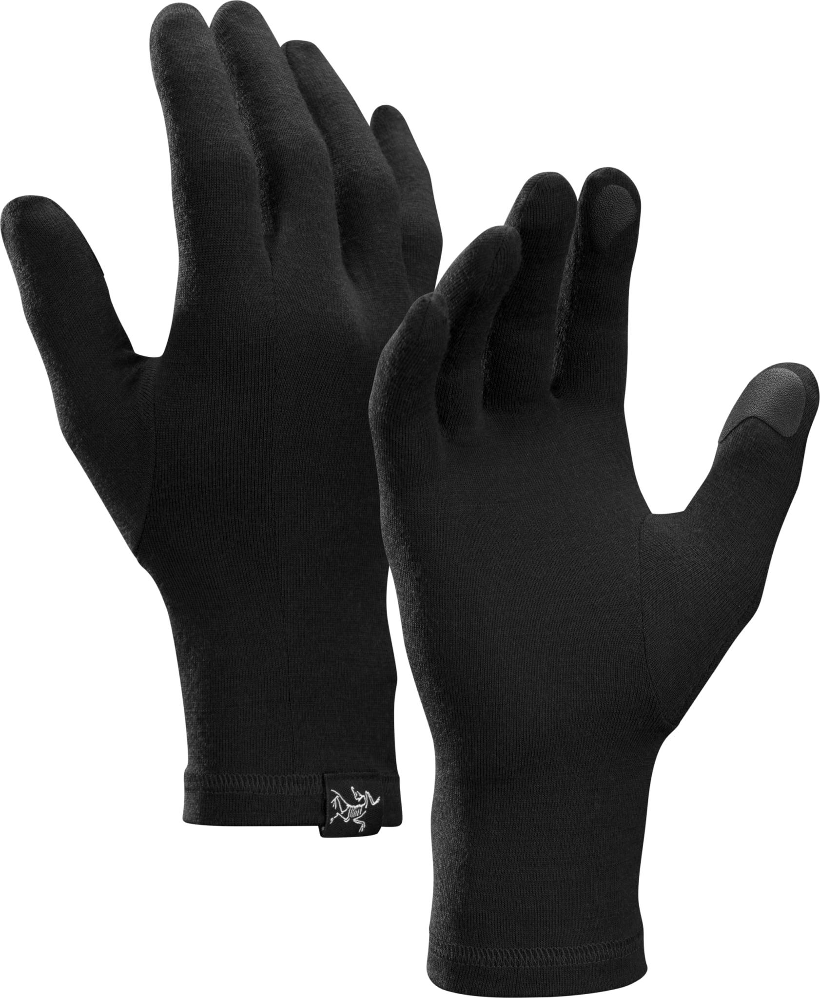 Tynn unisex-hanske i 95% ull