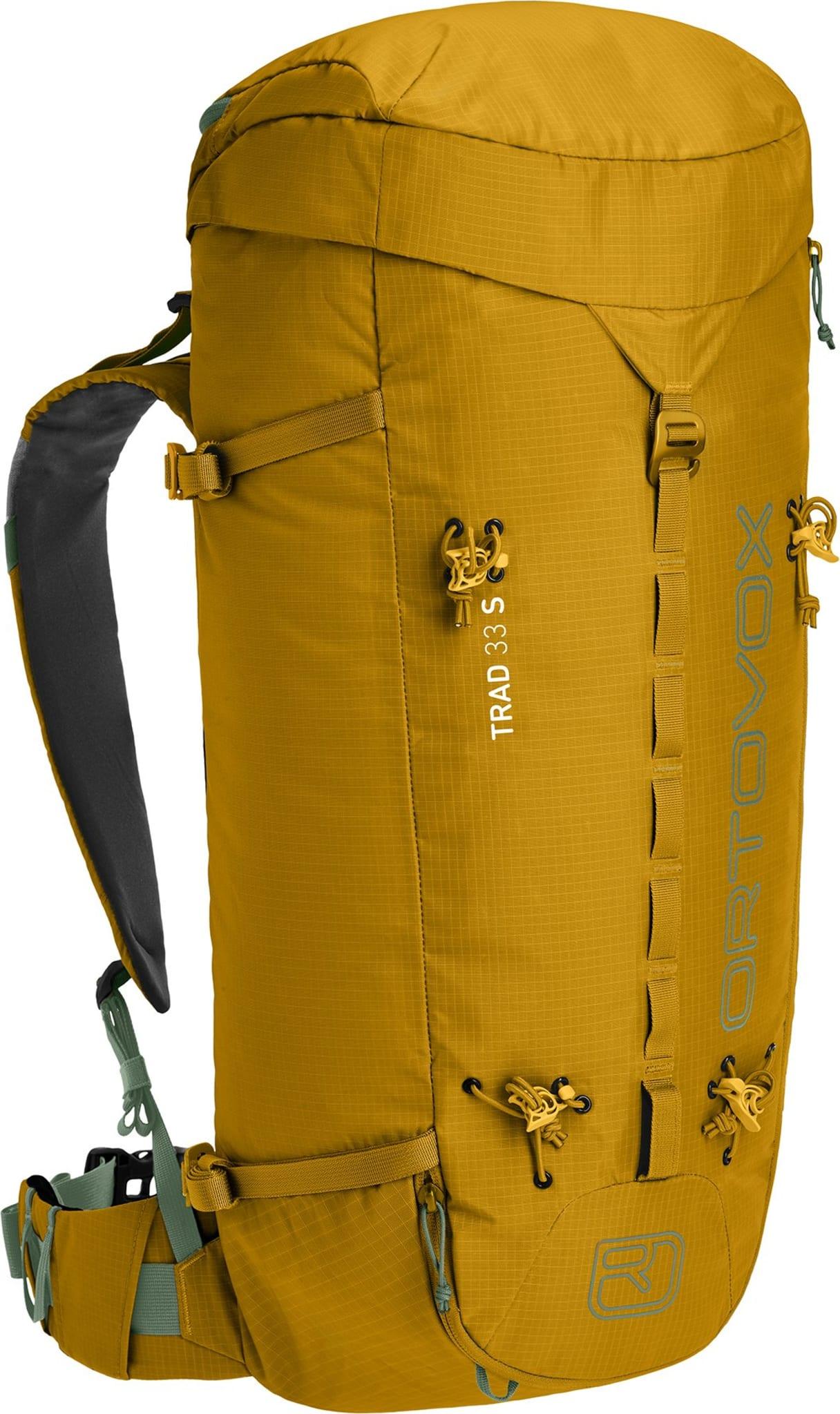 Lett 35-liters klatresekk med kort rygg