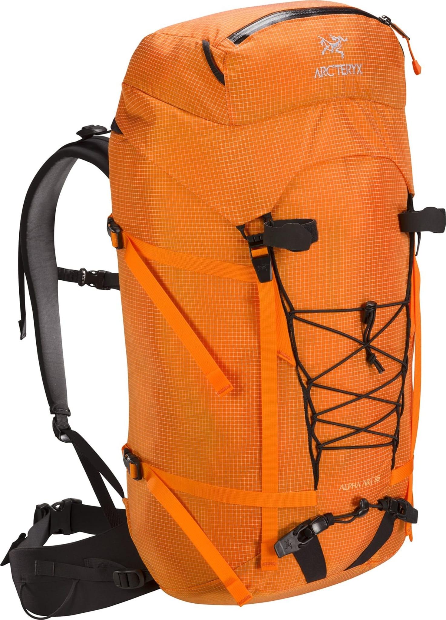 Slitesterk, værbestandig, superlett og praktisk sekk til all slags klatring og klyving