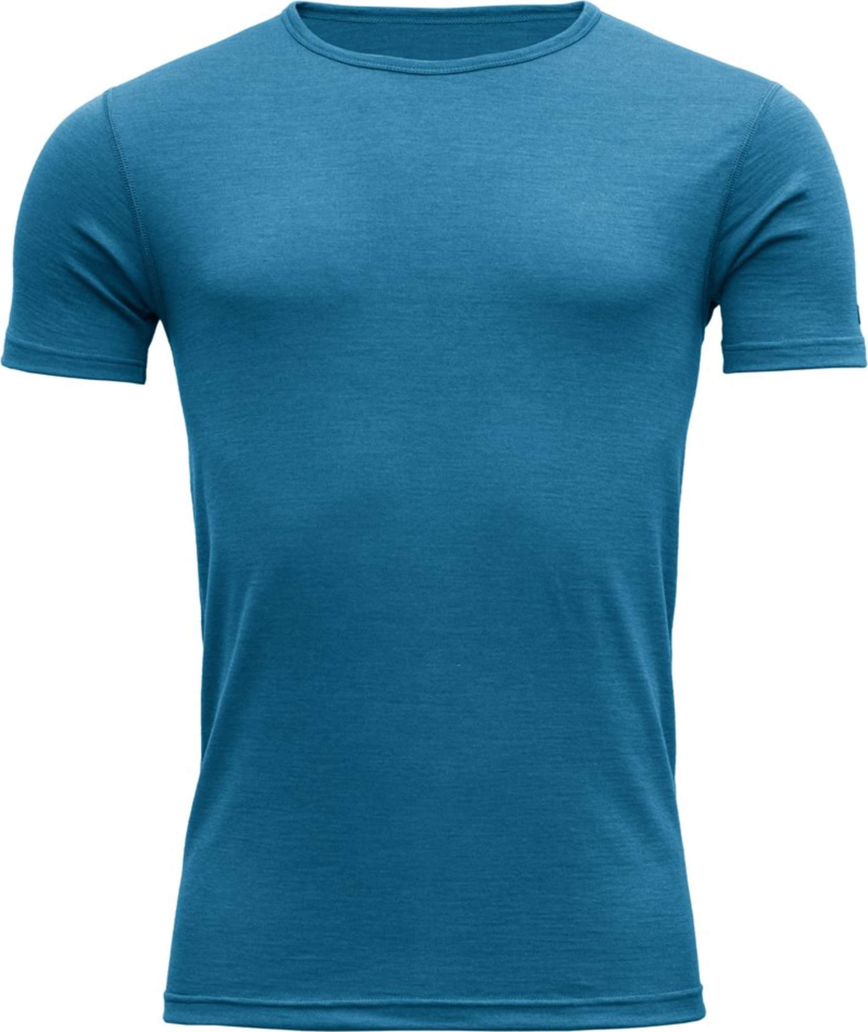 Myk og behagelig t-skjorte i 100% merinoull