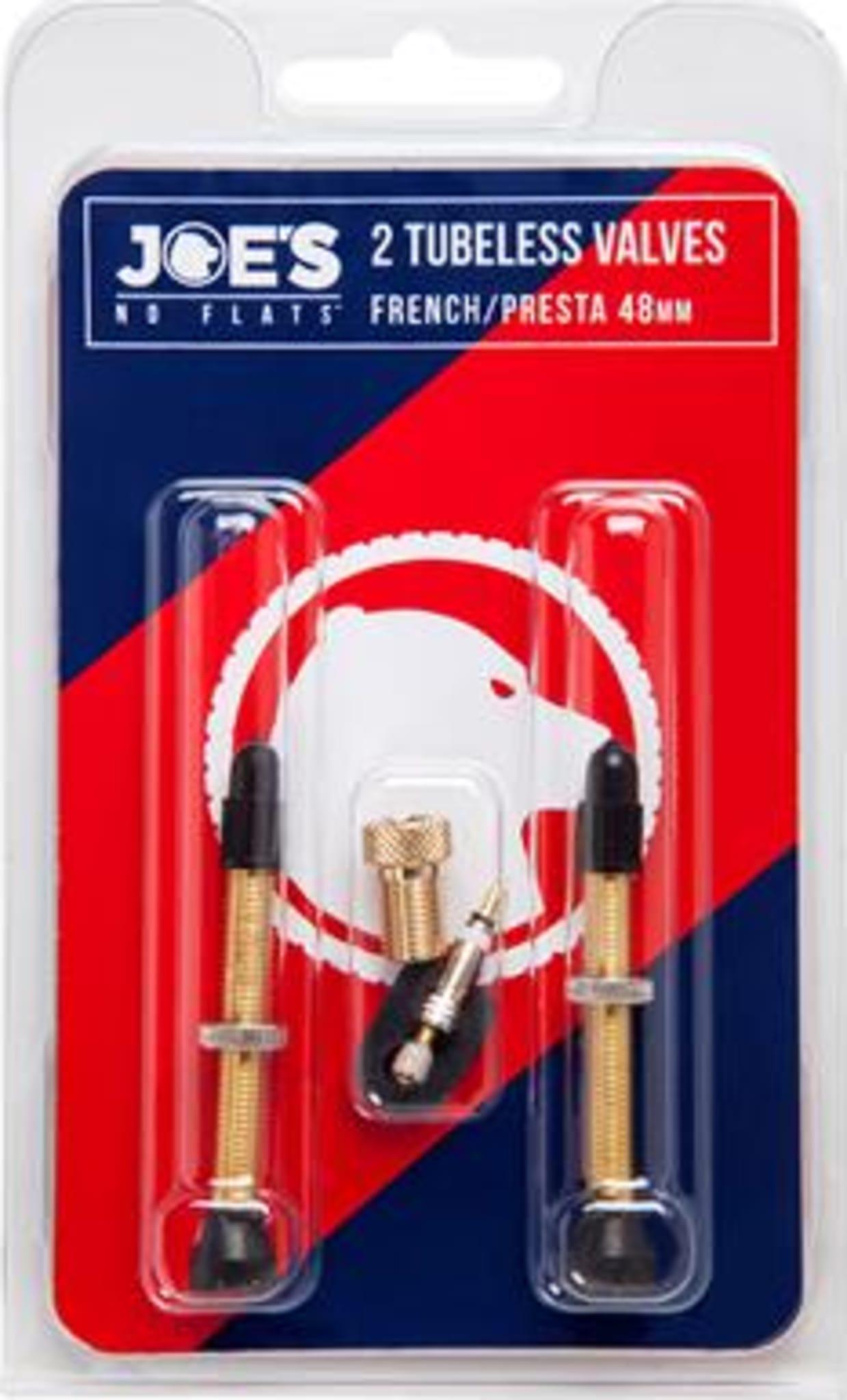Joe's Tubeless Presta Ventil 48mm