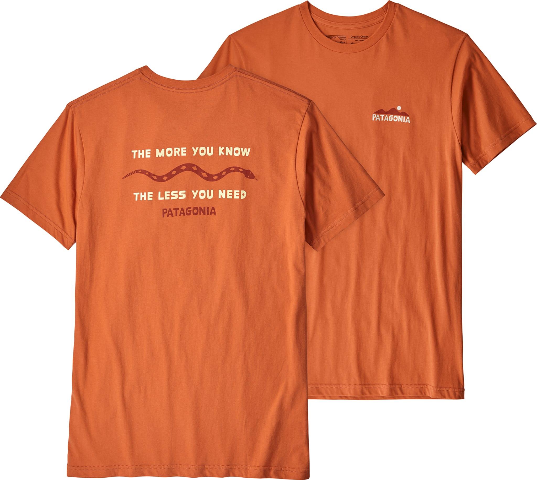 Lett organisk t-skjorte