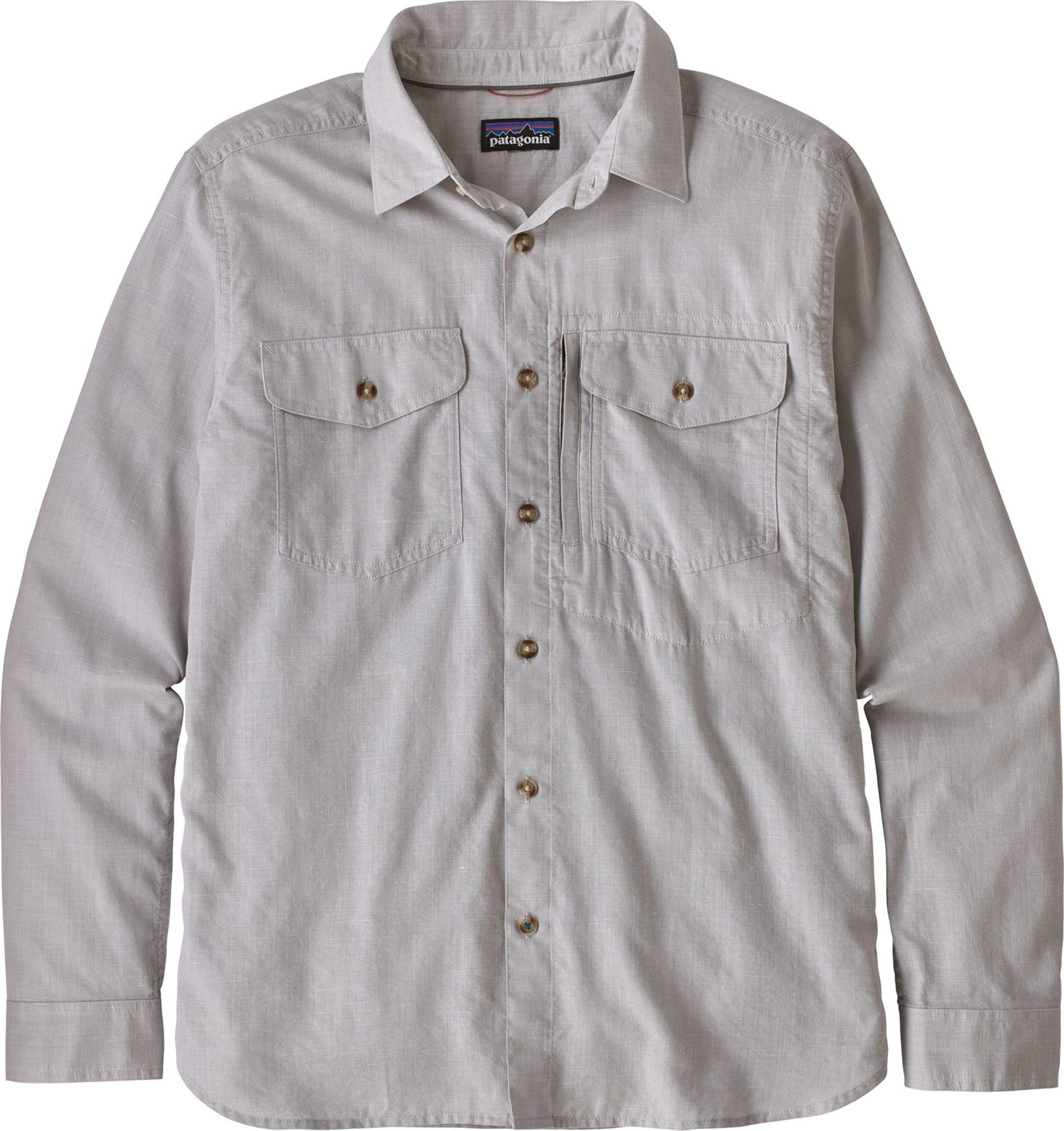 Tynn og behagelig skjorte i hurtigtørkende bomullsblanding