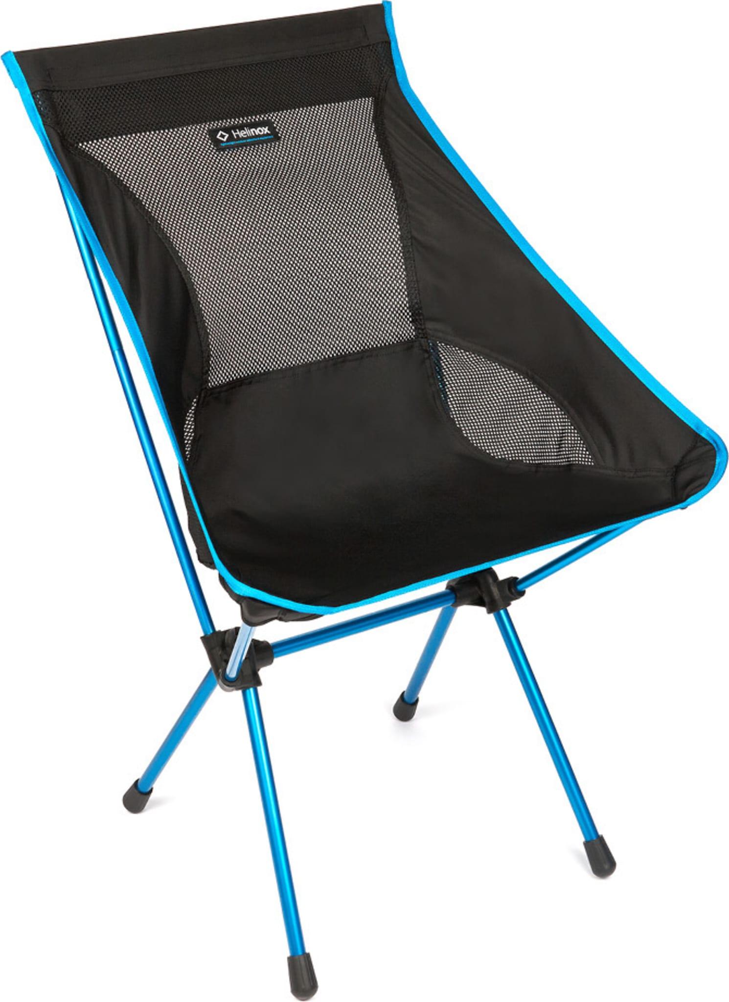 Svært komfortabel campingstol på tross av lav vekt