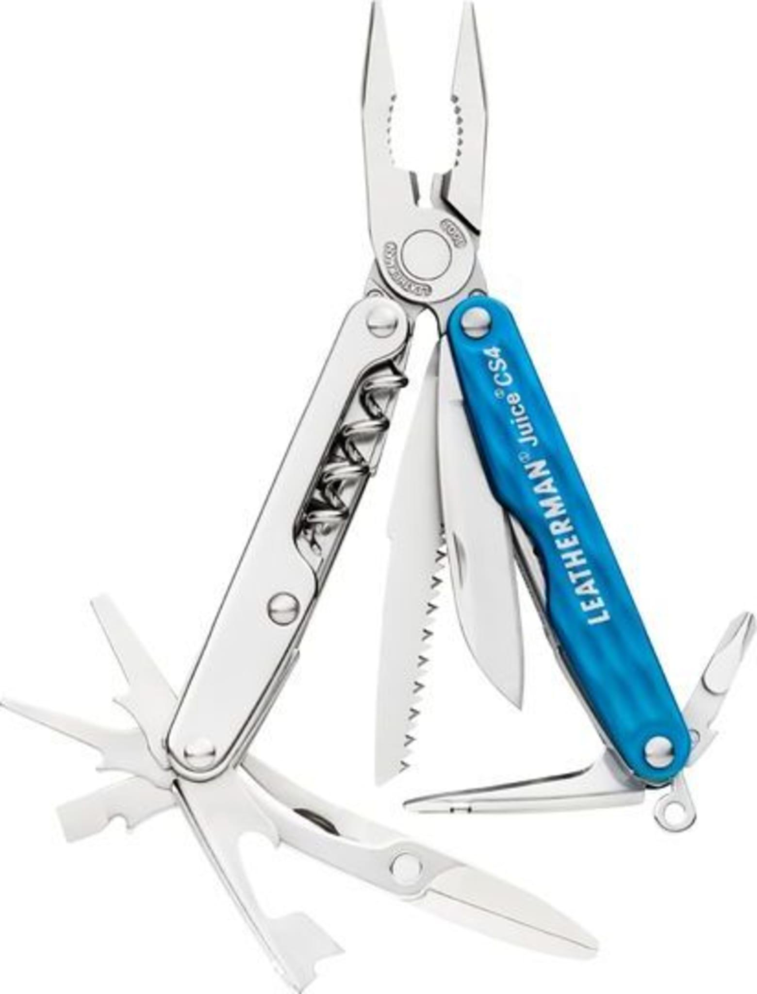 Liten kniv, med masse verktøy!