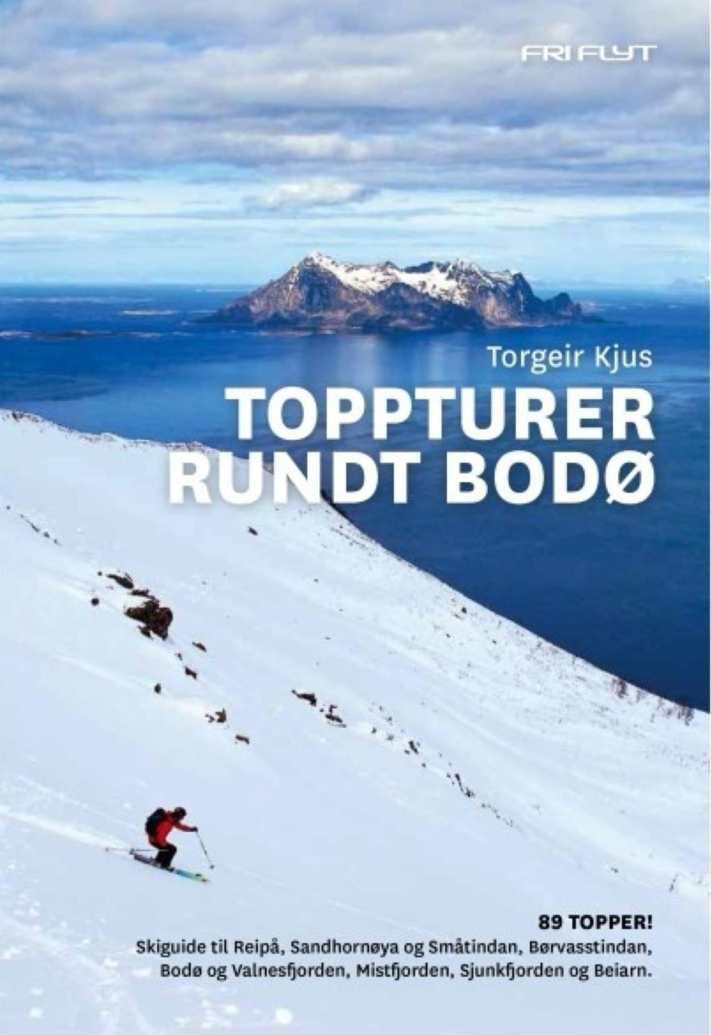 En for de fleste utømmelig oversikt over 89 skifjell fjell rundt Bodø