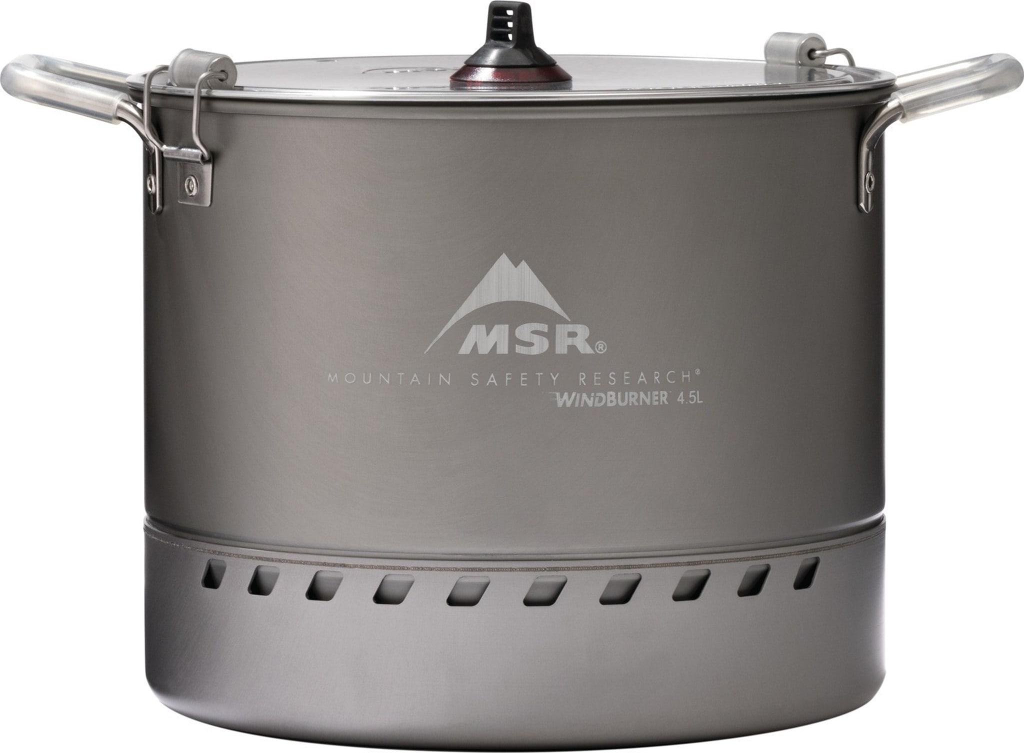 Stor 4,5L kjele med varmeveksler for Windburner Stove System