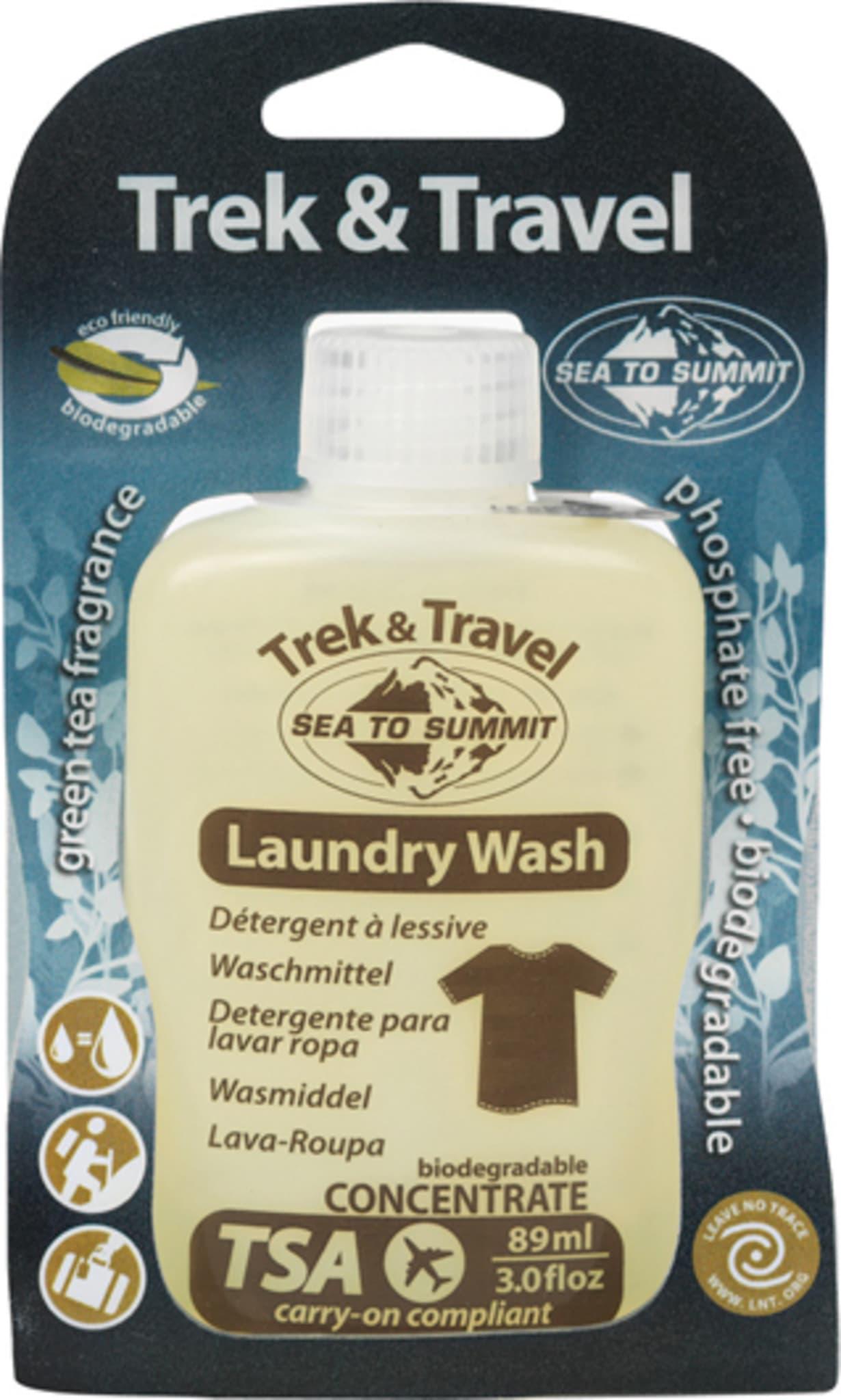 Mildt vaskemiddel for reise og tur