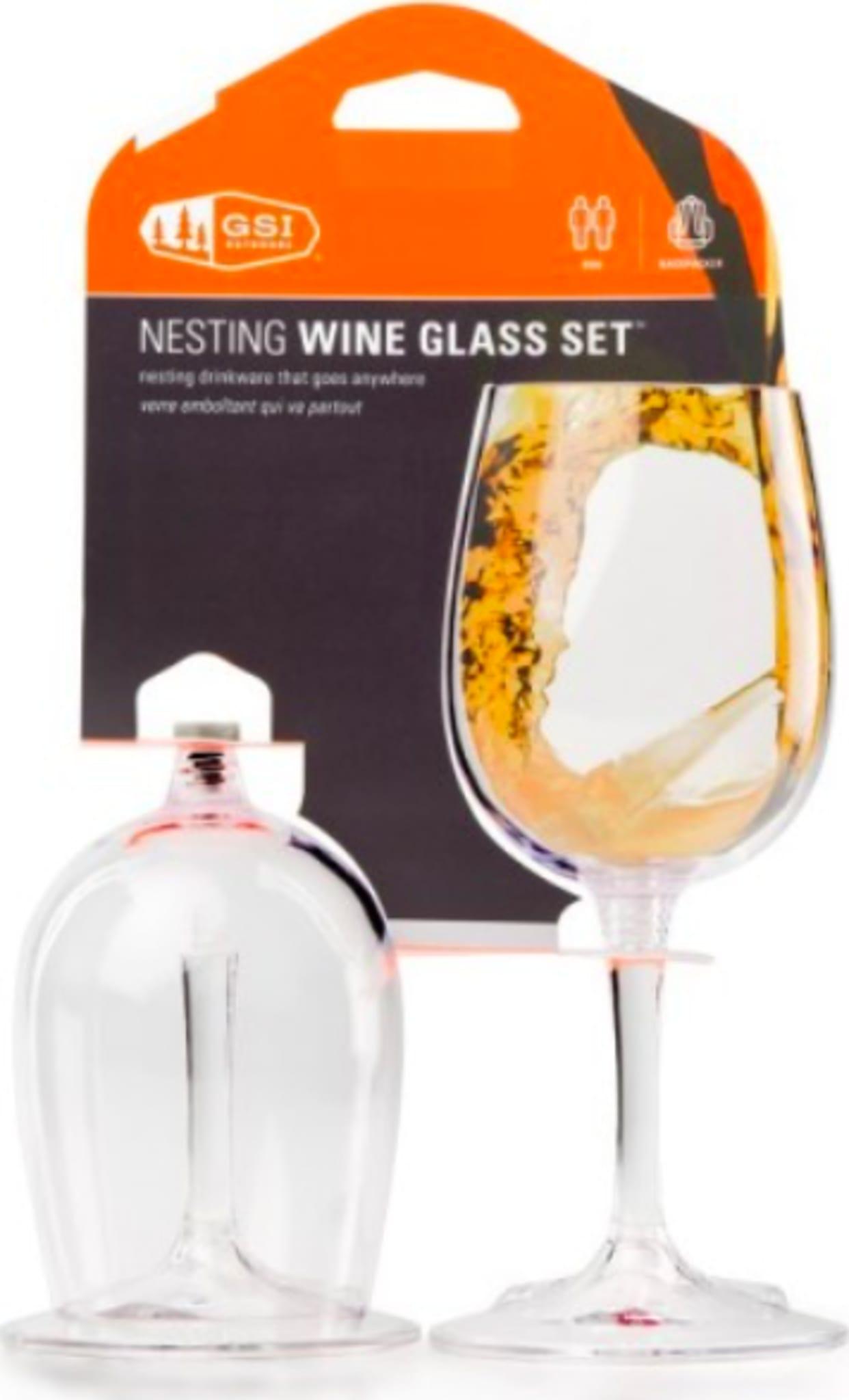 Lekre, praktiske, og gode vinglass som alltid får plass i sekken!