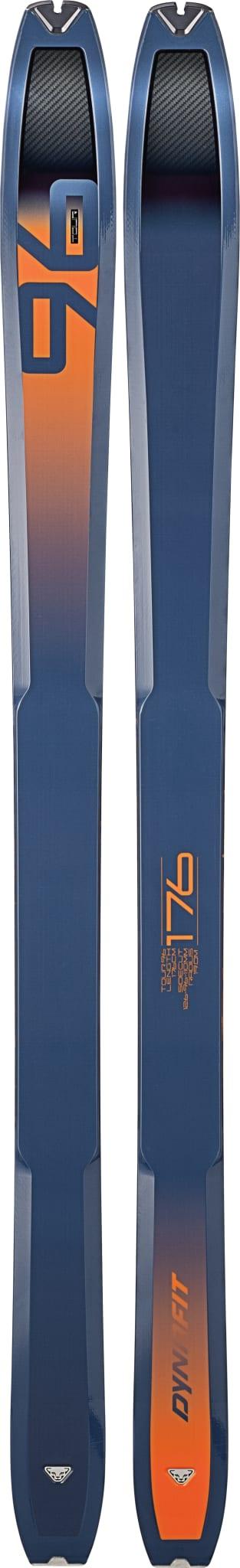 Lettkjørt ski med god bredde for hverdagshelter og innholdsrike helger