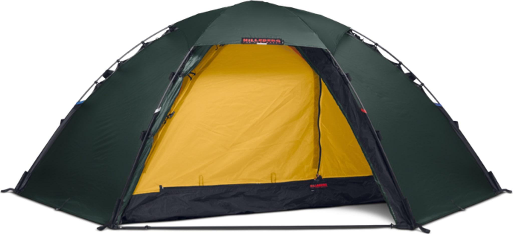 Selvstående 2-manns telt