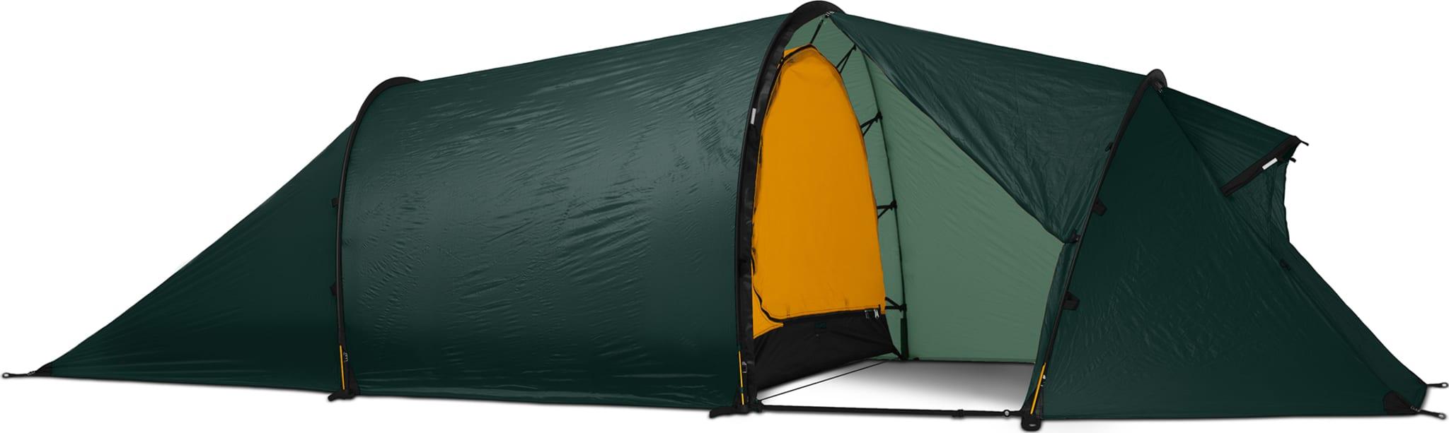 Lett telt med god plass til tre personer