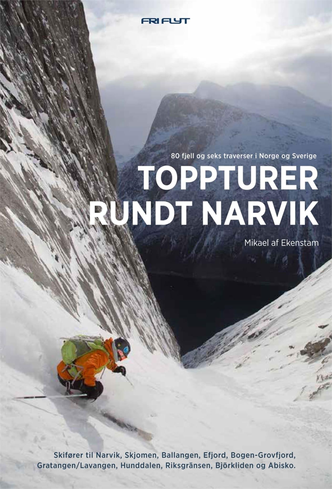 Ny og oppdatert toppturbok for fjellene rundt Narvik