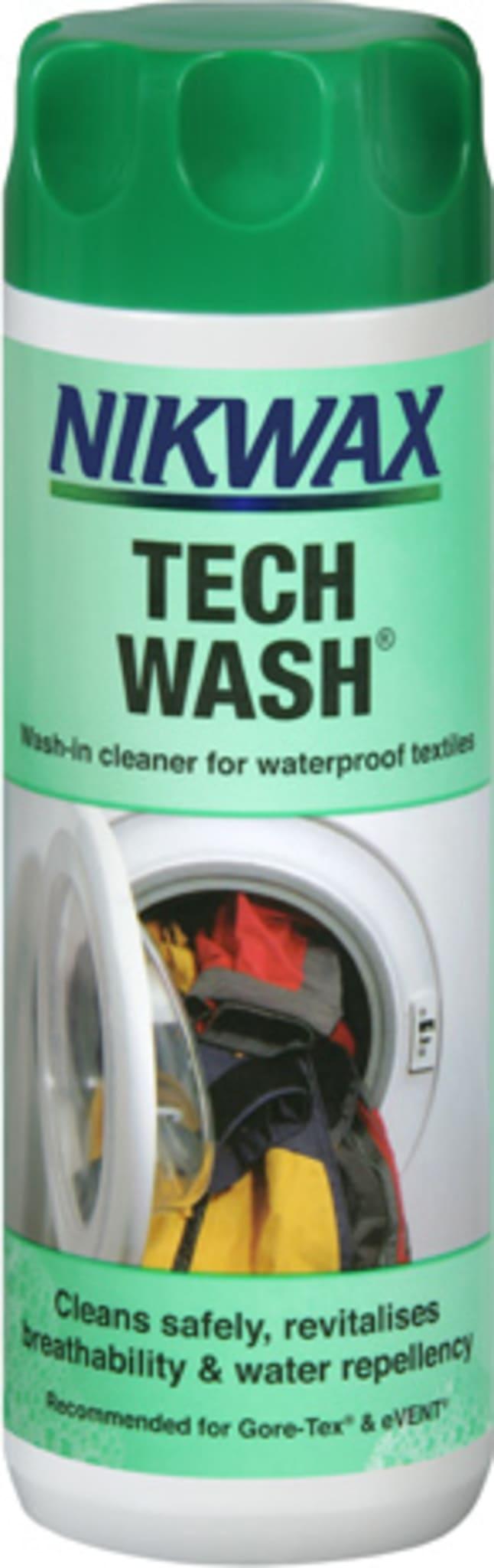 Vaskemiddel for impregnerte tekstiler