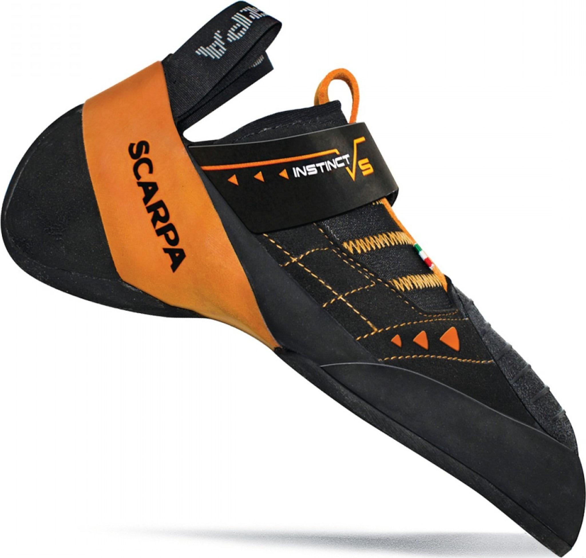 Følsom og høytytende sko for harde buldre og sportsruter