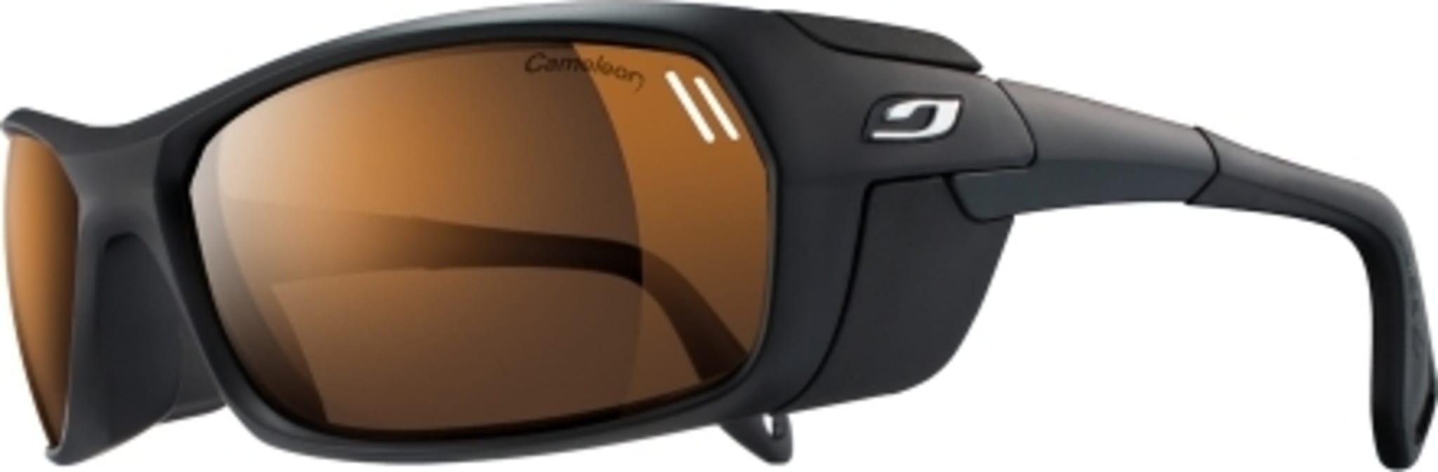Bre- og høyfjellsbrille med sidebeskyttere