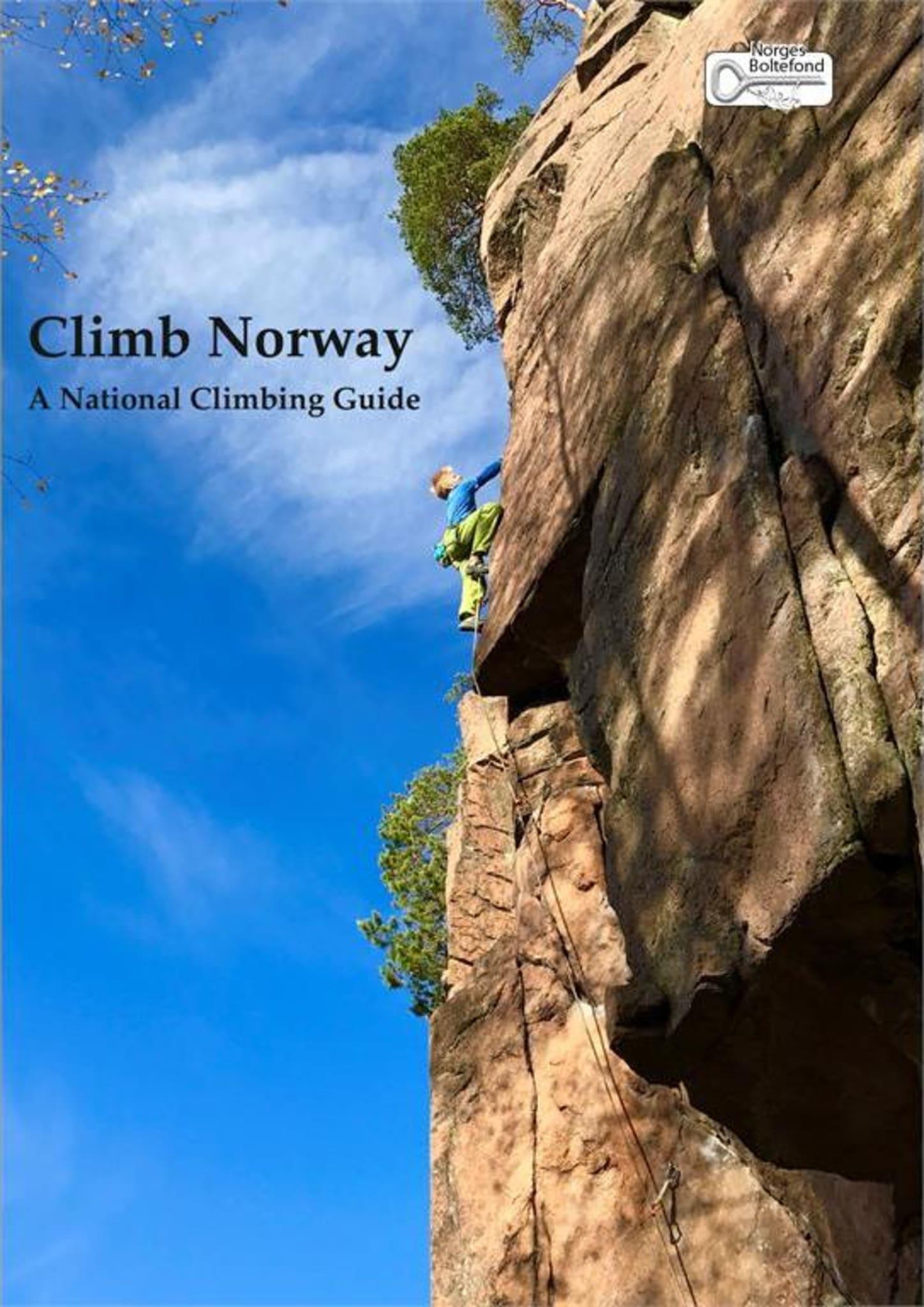 Siste utgave av Climb Norway med nye crag og bilder