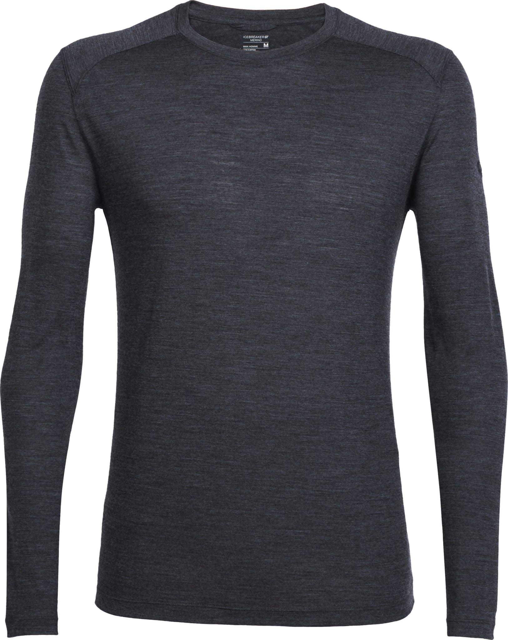 Langerma skjorte i tynn merinoull perfekt til trening og reise