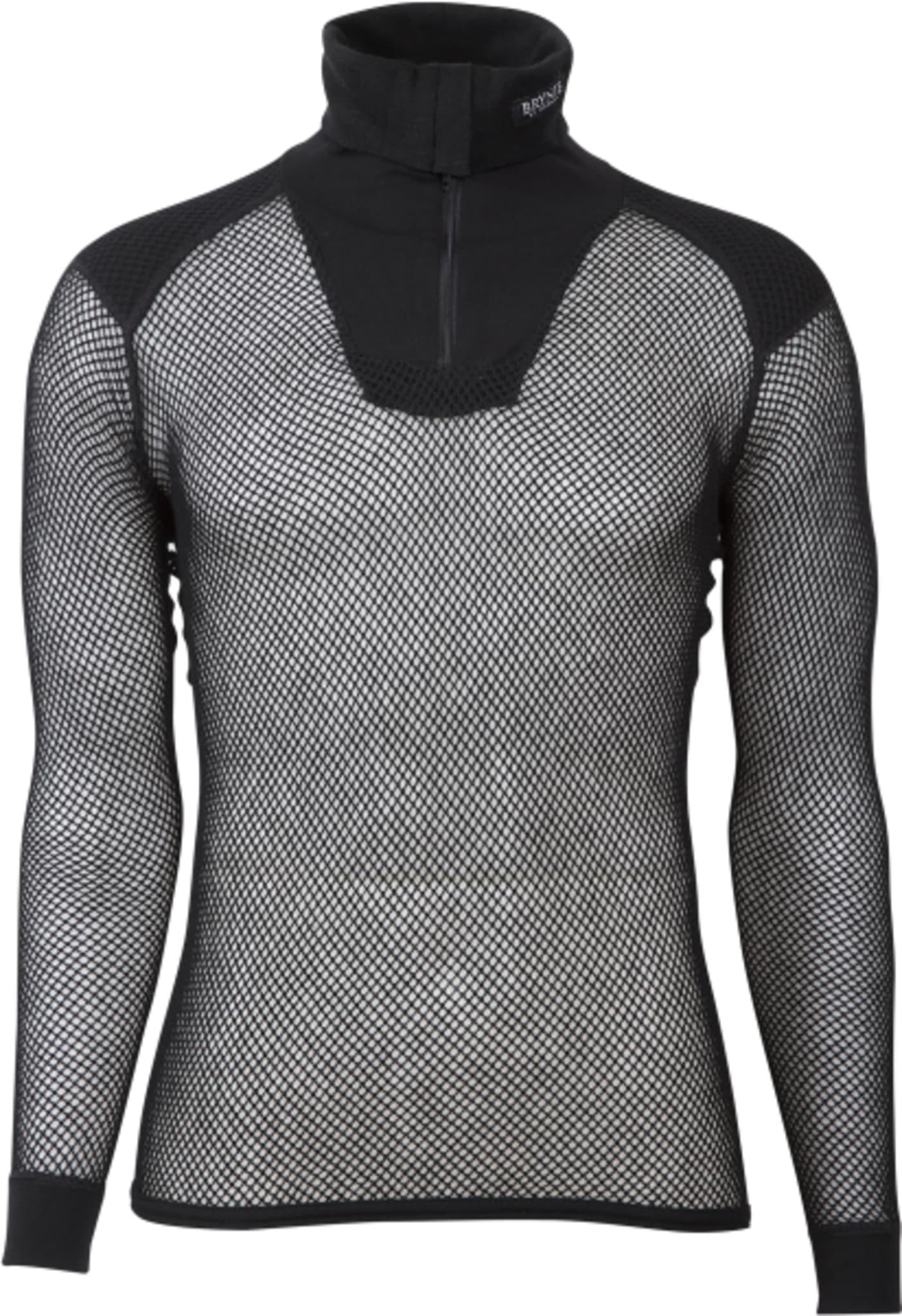 Høyhalset Wool Thermo trøye