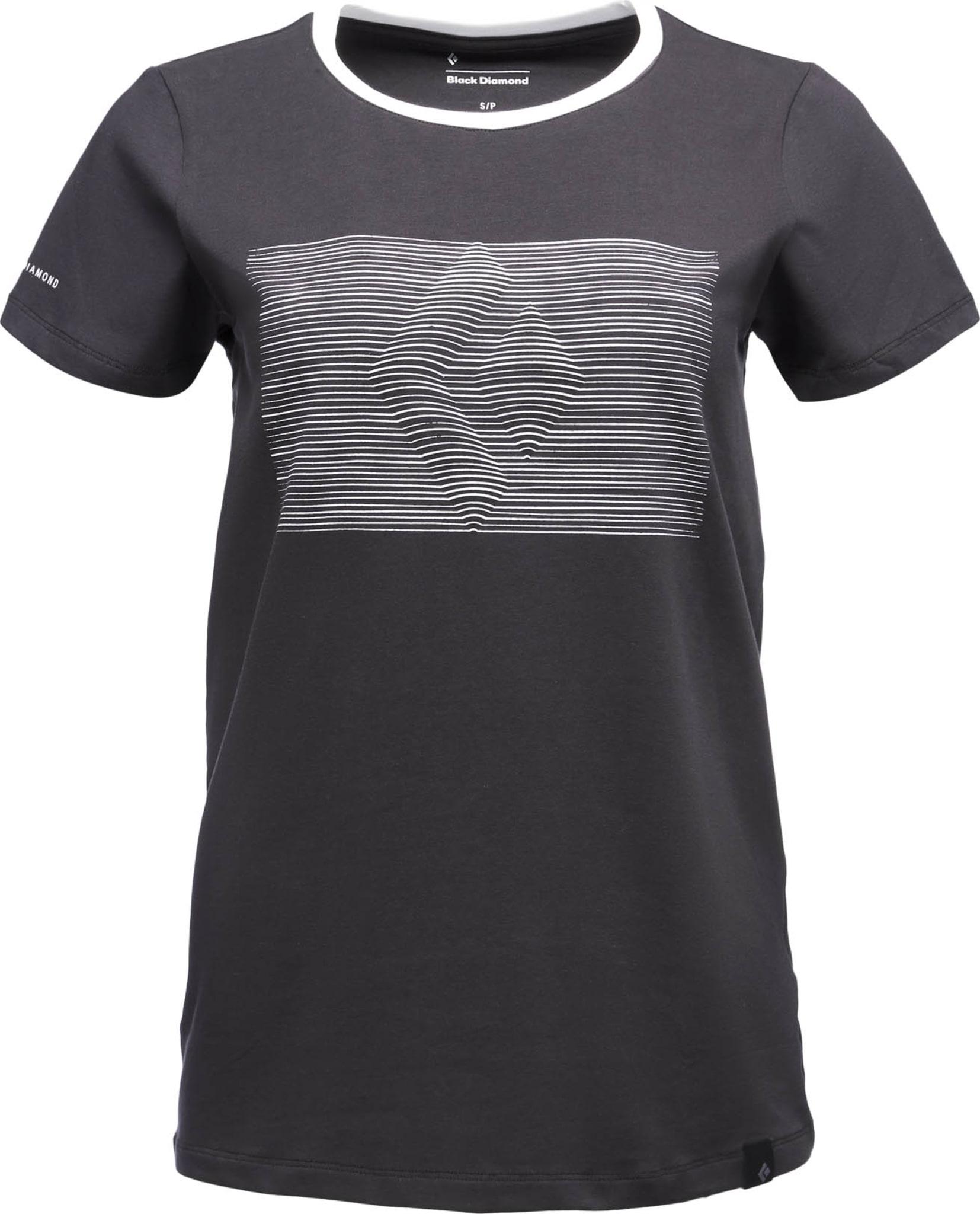 Klassisk t-skjorte i organisk bomull med ekstra stretch