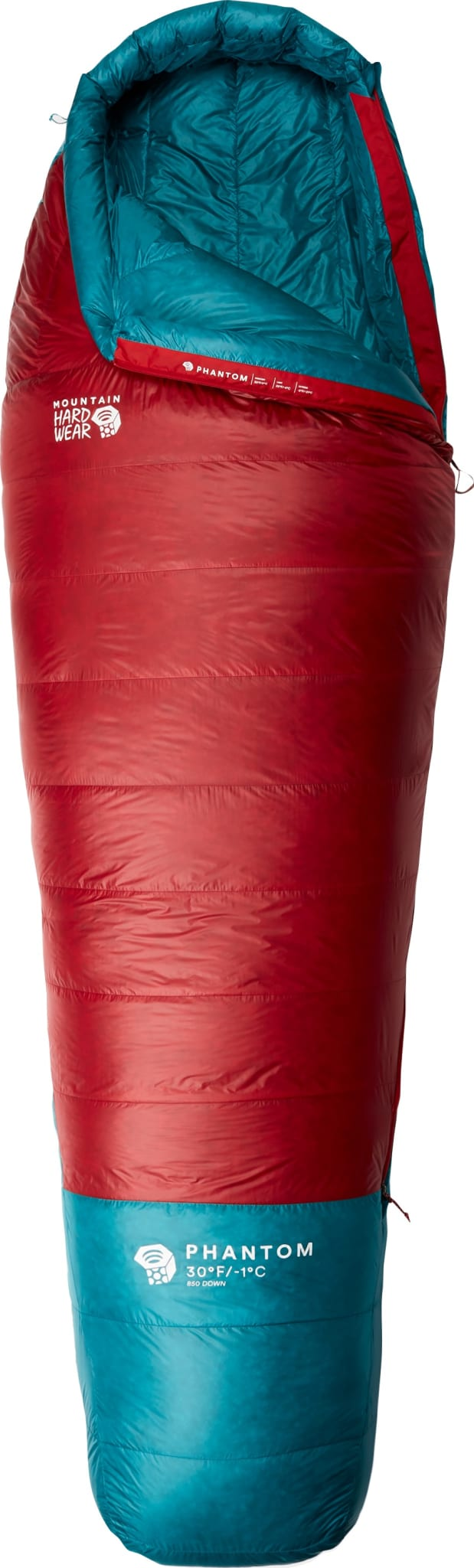 Fjærlett alpin sovepose med 850FP gåsedun