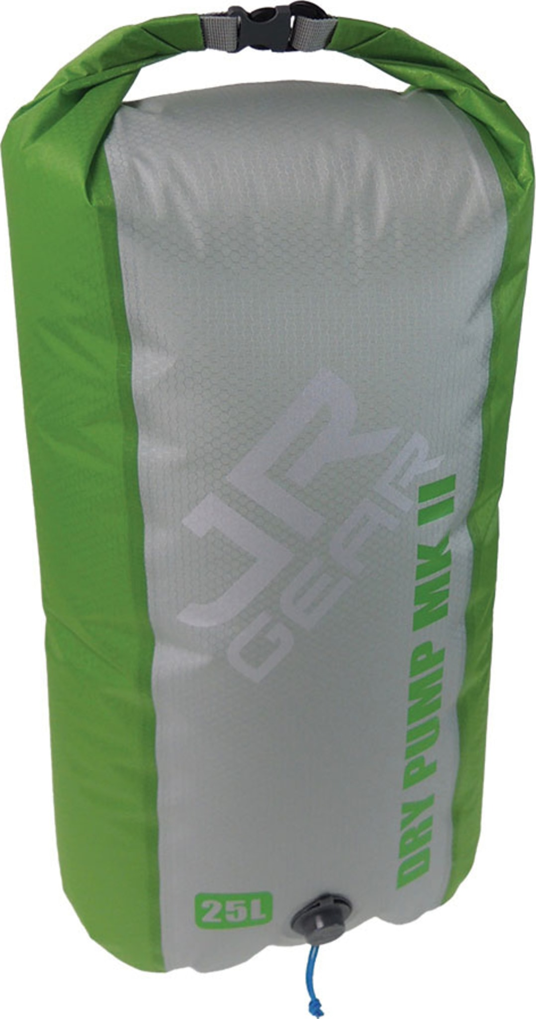 Pumpe til JR underlag som også kan brukes som pakkpose