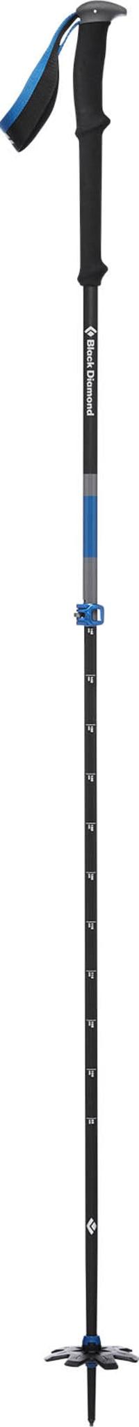 Solid aluminiumsstav med forlenget håndtak i to deler