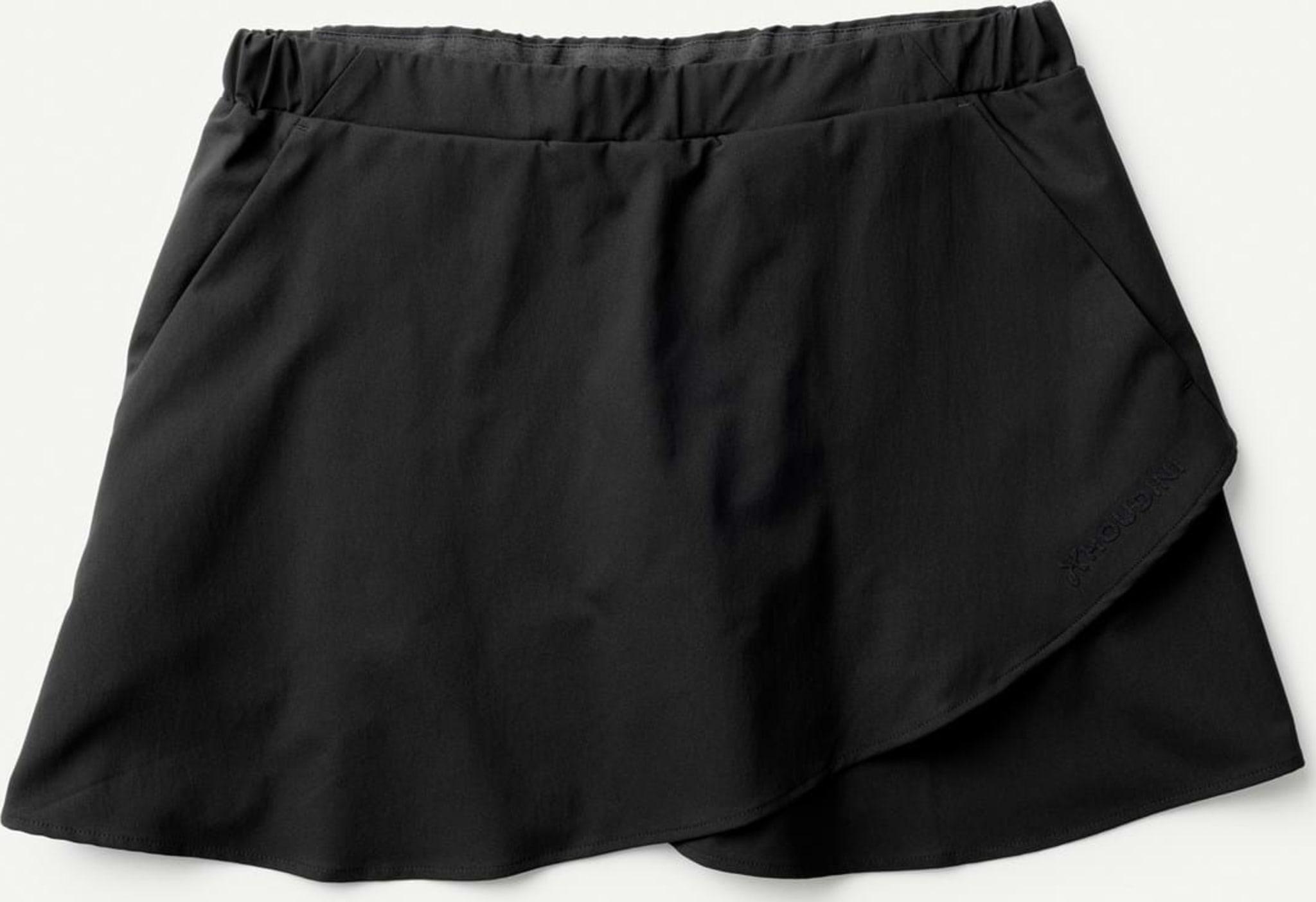Hybrid mellom skjørt og shorts
