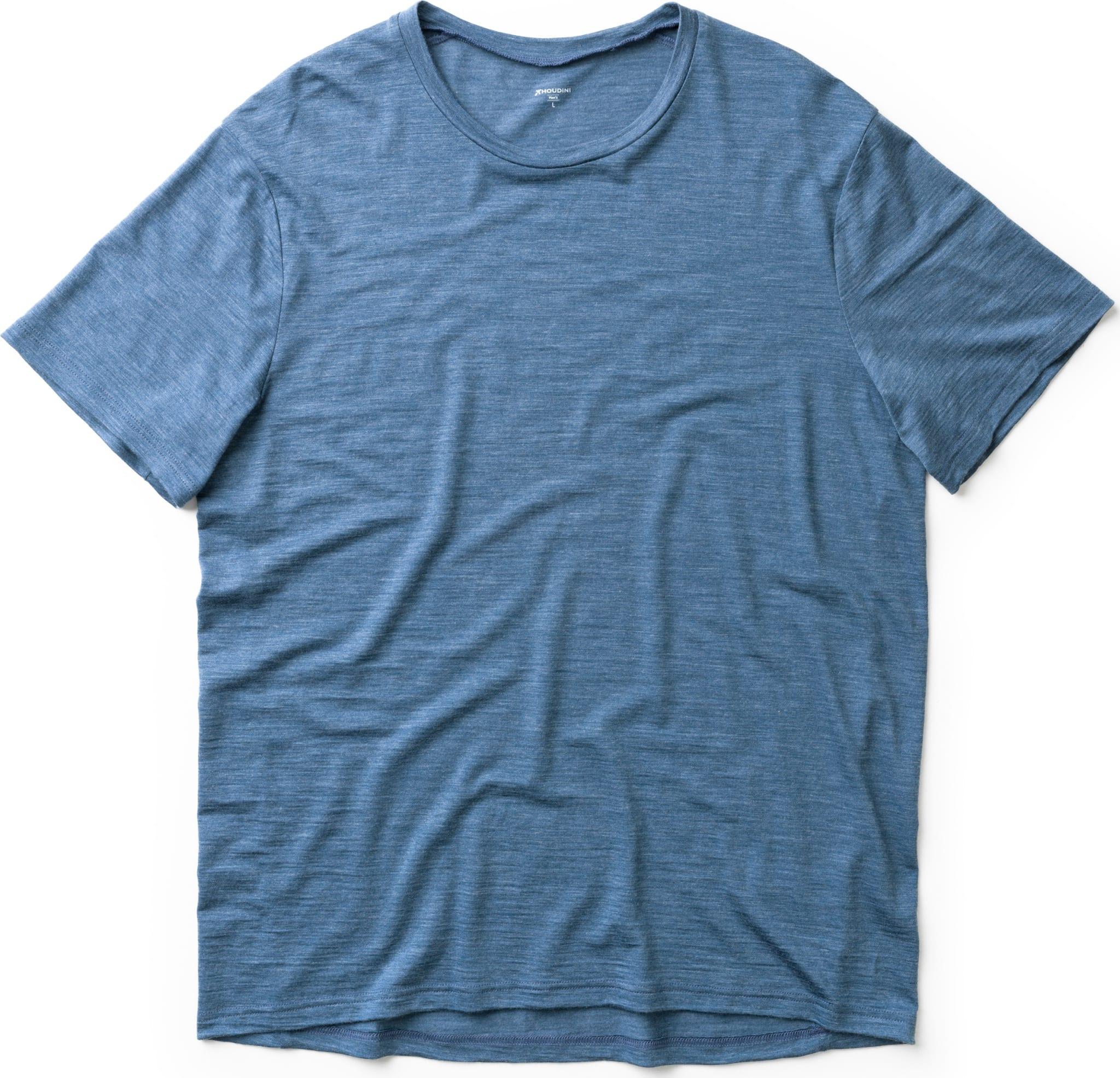 Behagelig t-skjorte i 60% ull og 40% Tencel