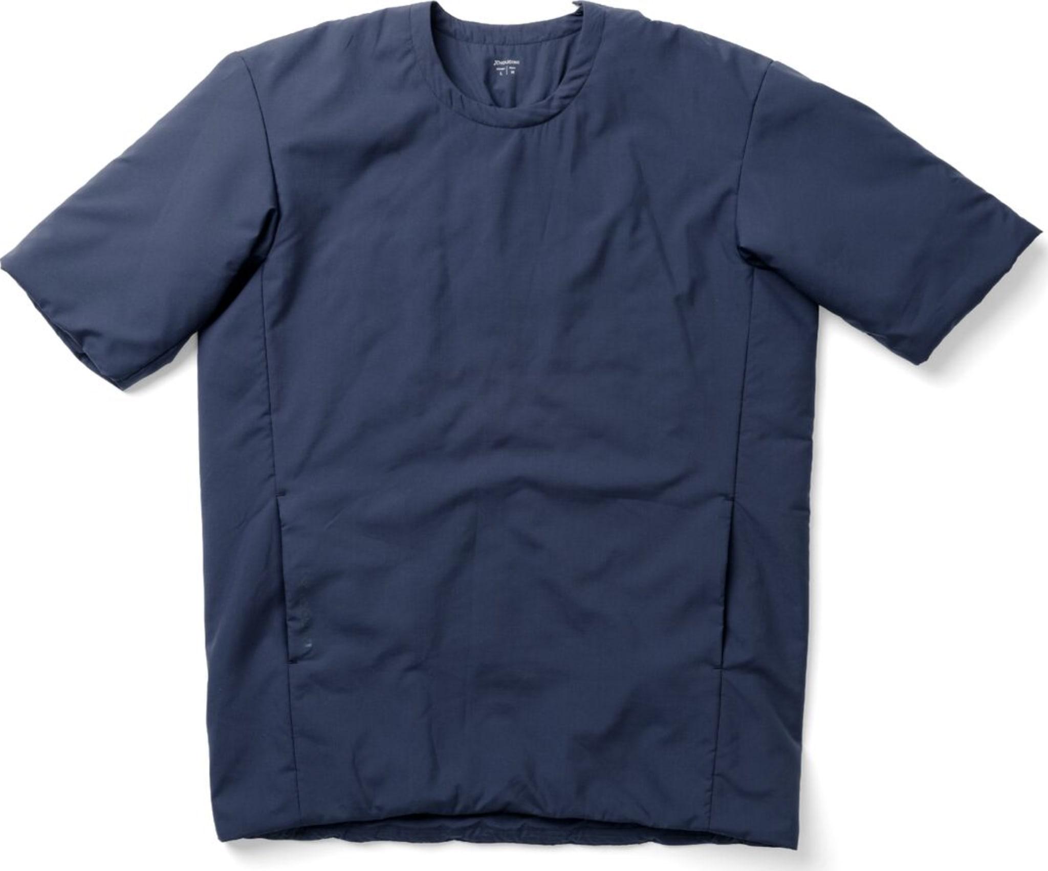 Fóret t-skjorte for ekstra varme i all slags vær