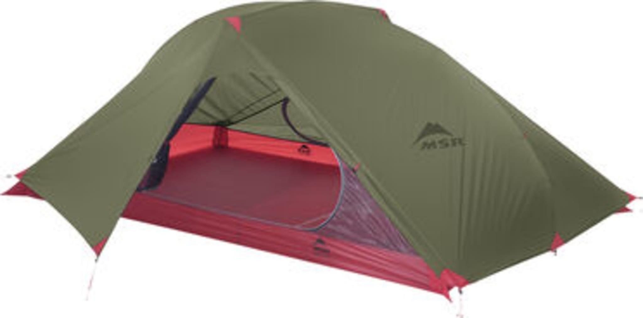Superlett telt for to personer vår, sommer og høst!