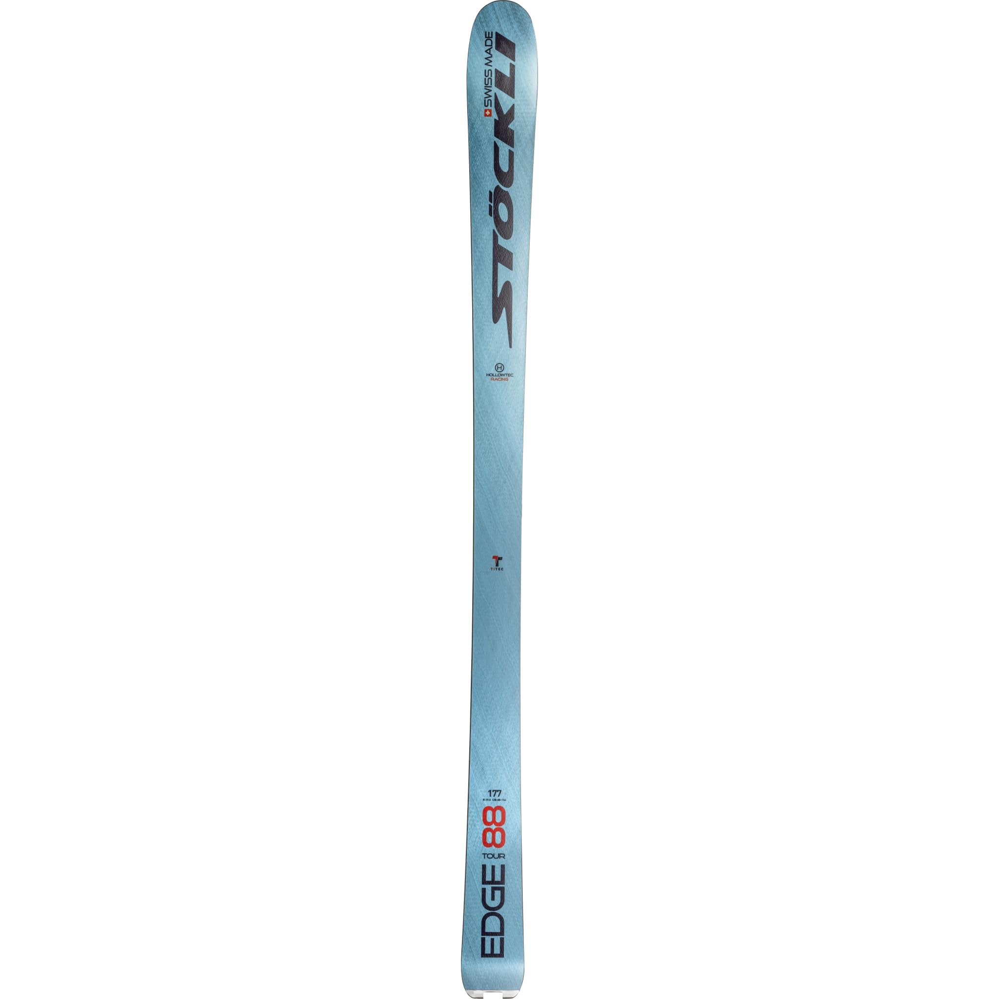 Kraftig ski med relativt smal midje for best mulig kantrep
