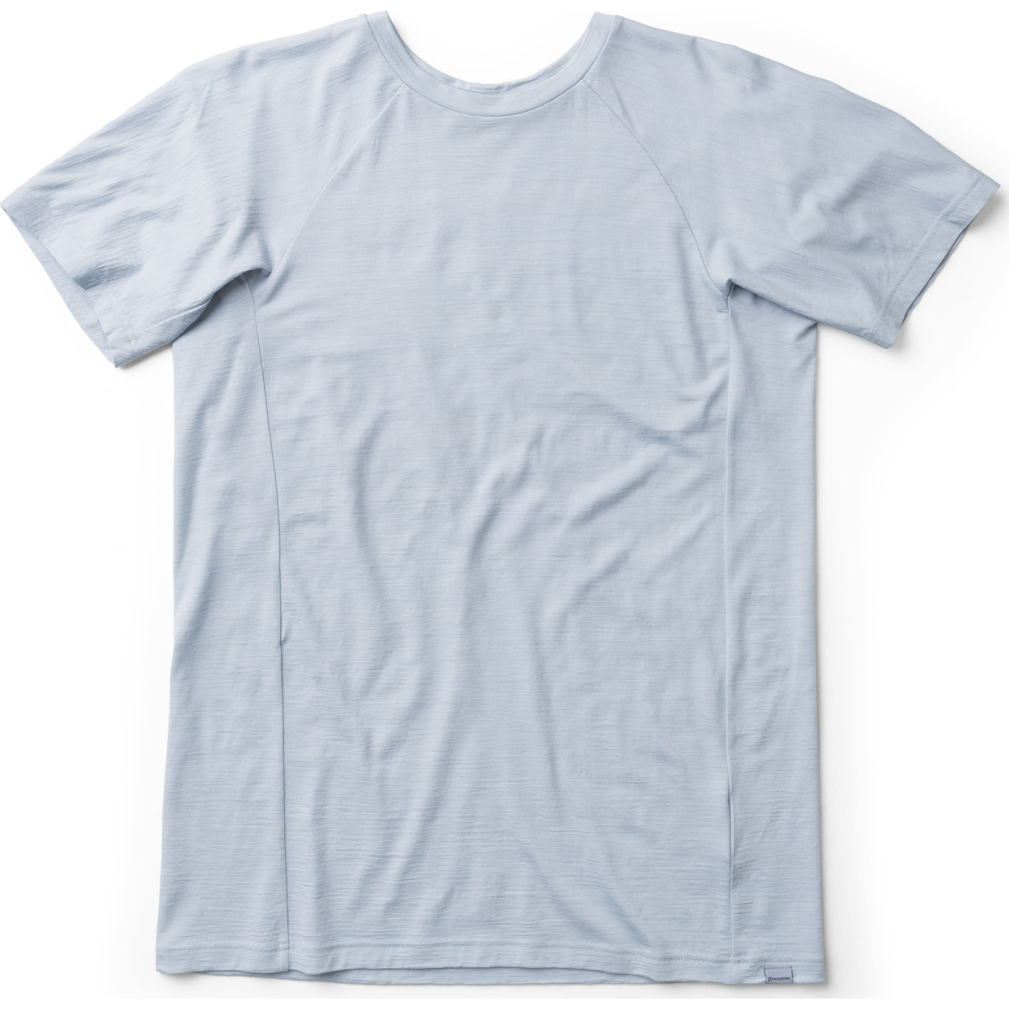 Tynn og lett merinoskjorte laget spesielt for bevegelse