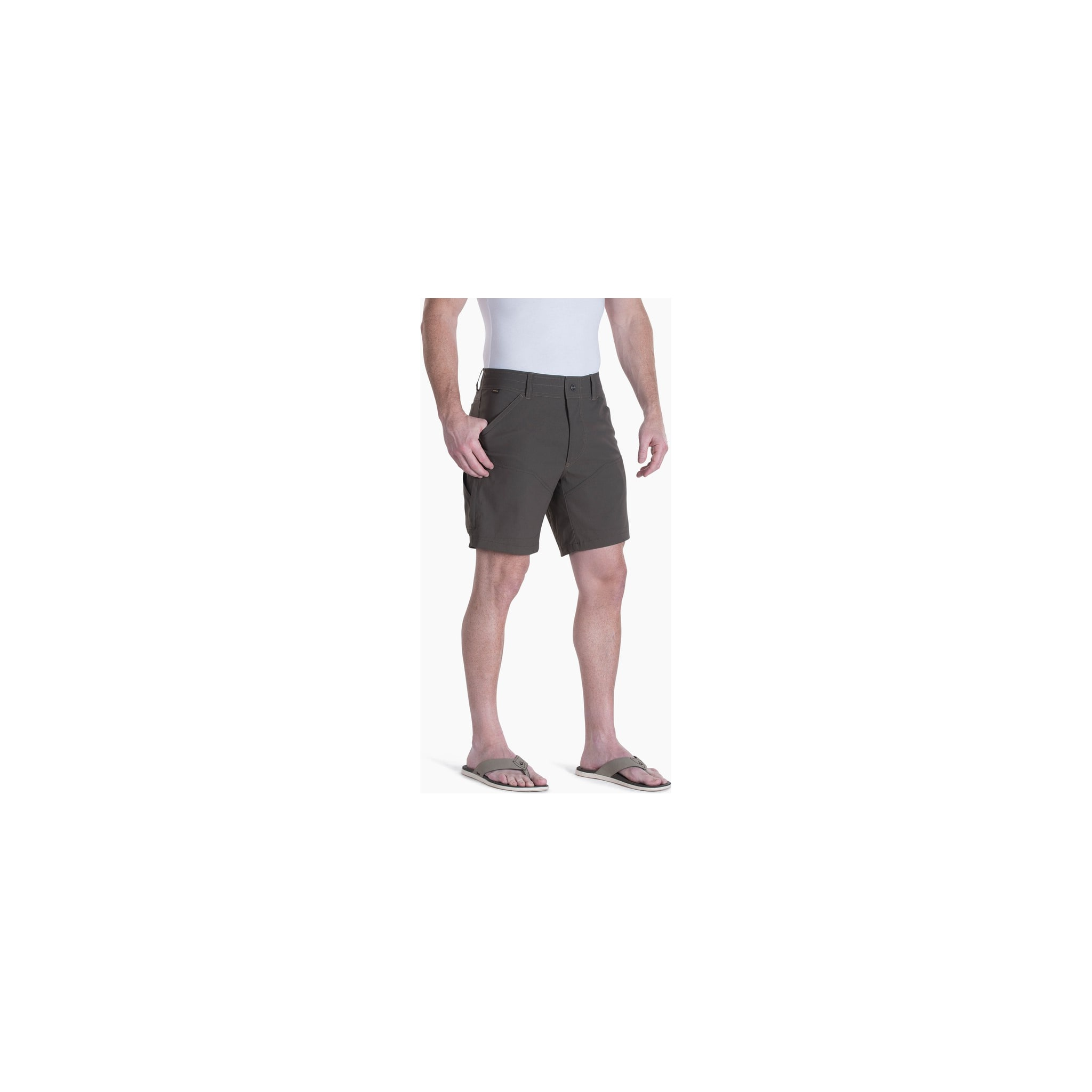 Lett og supersmooth klatreshorts