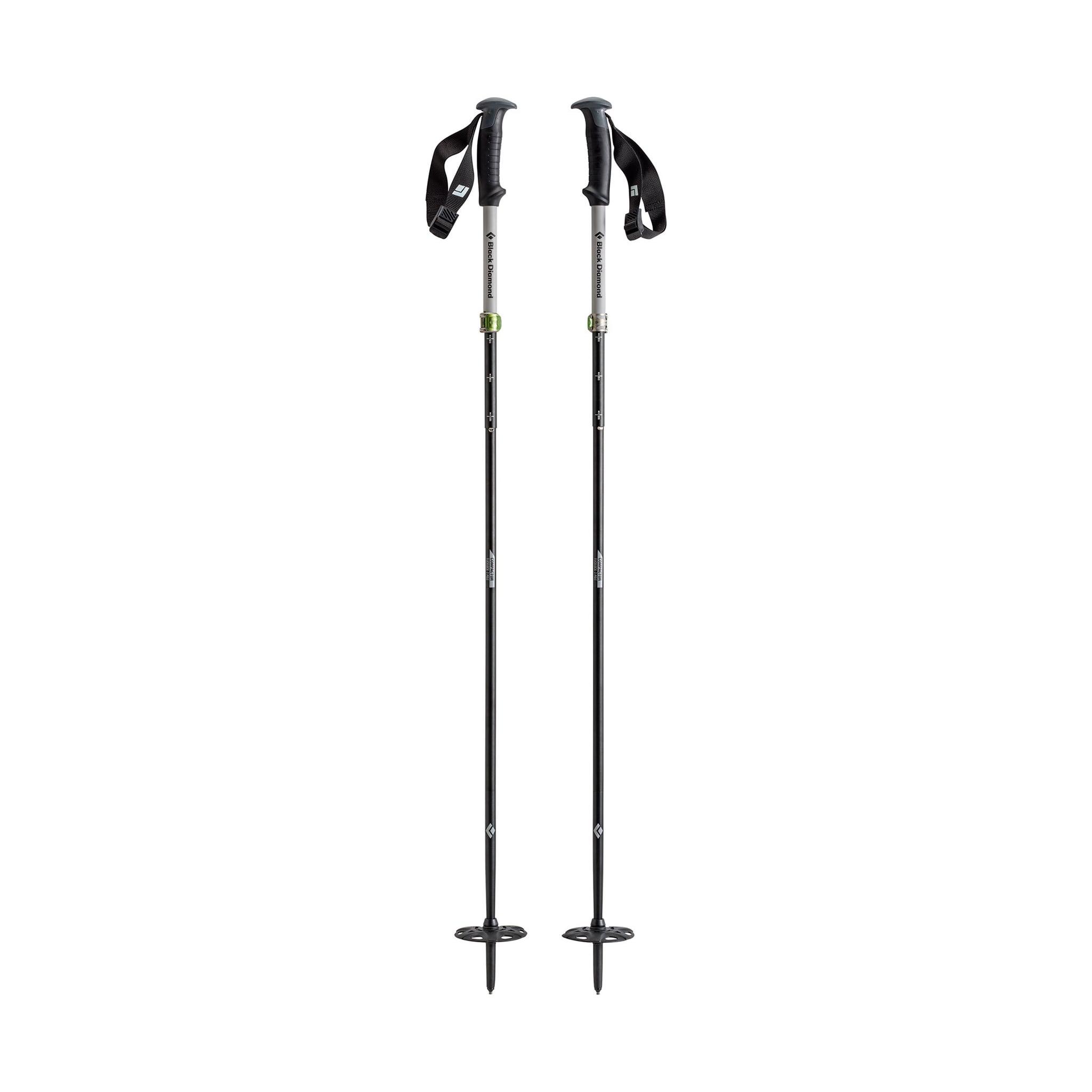 Justerbare og sammenleggbare staver for splitboard og klatring