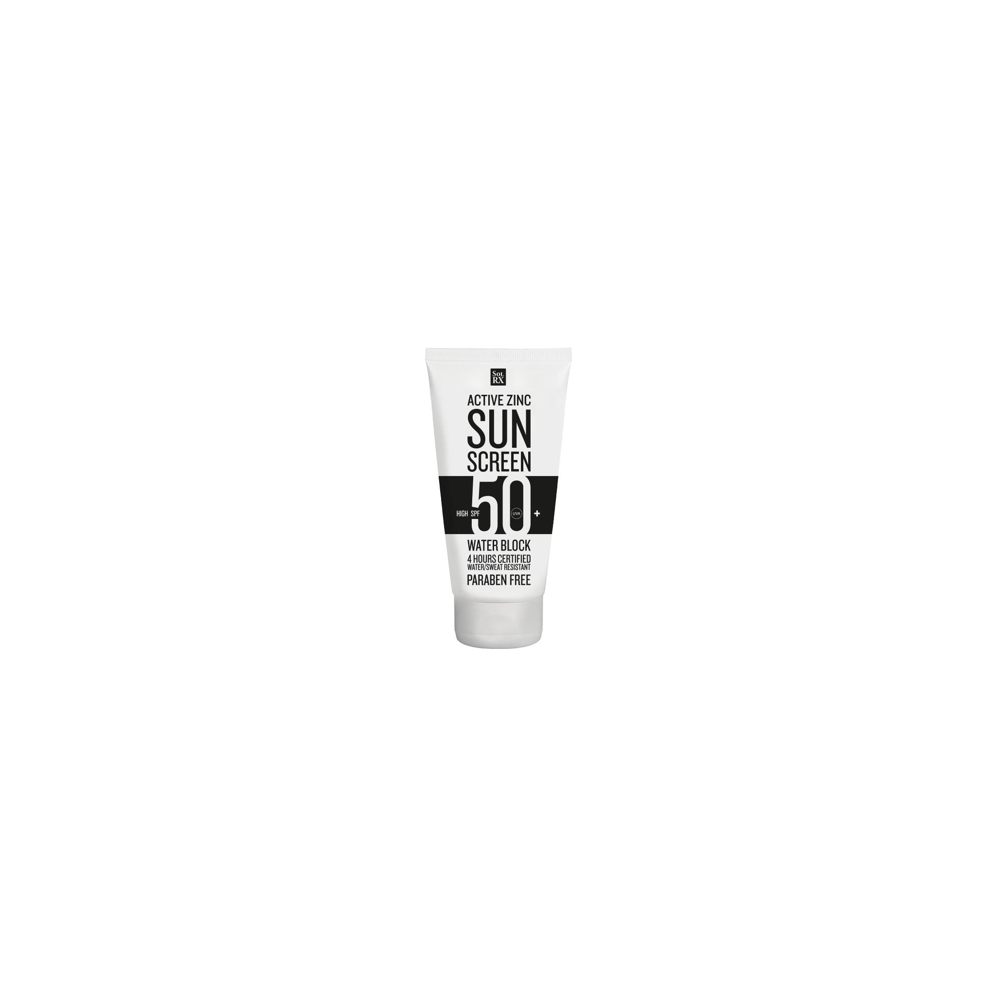 Luktfri solkrem med sinkoksid i faktor 50