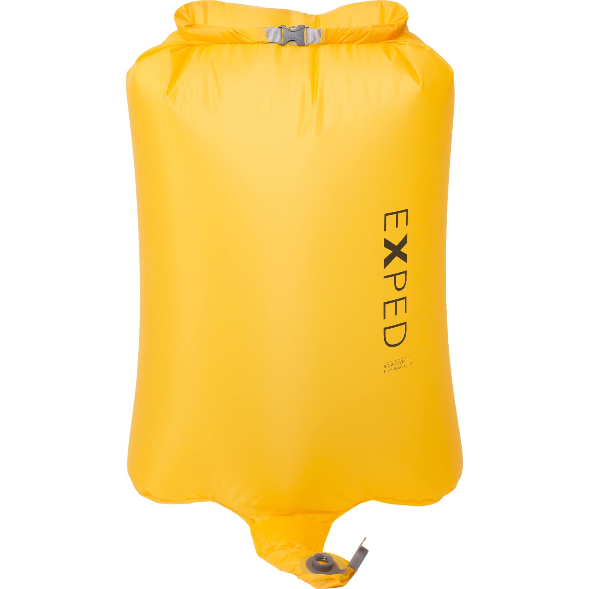 Kombinert pumpe og pakkpose til Exped liggeunderlag