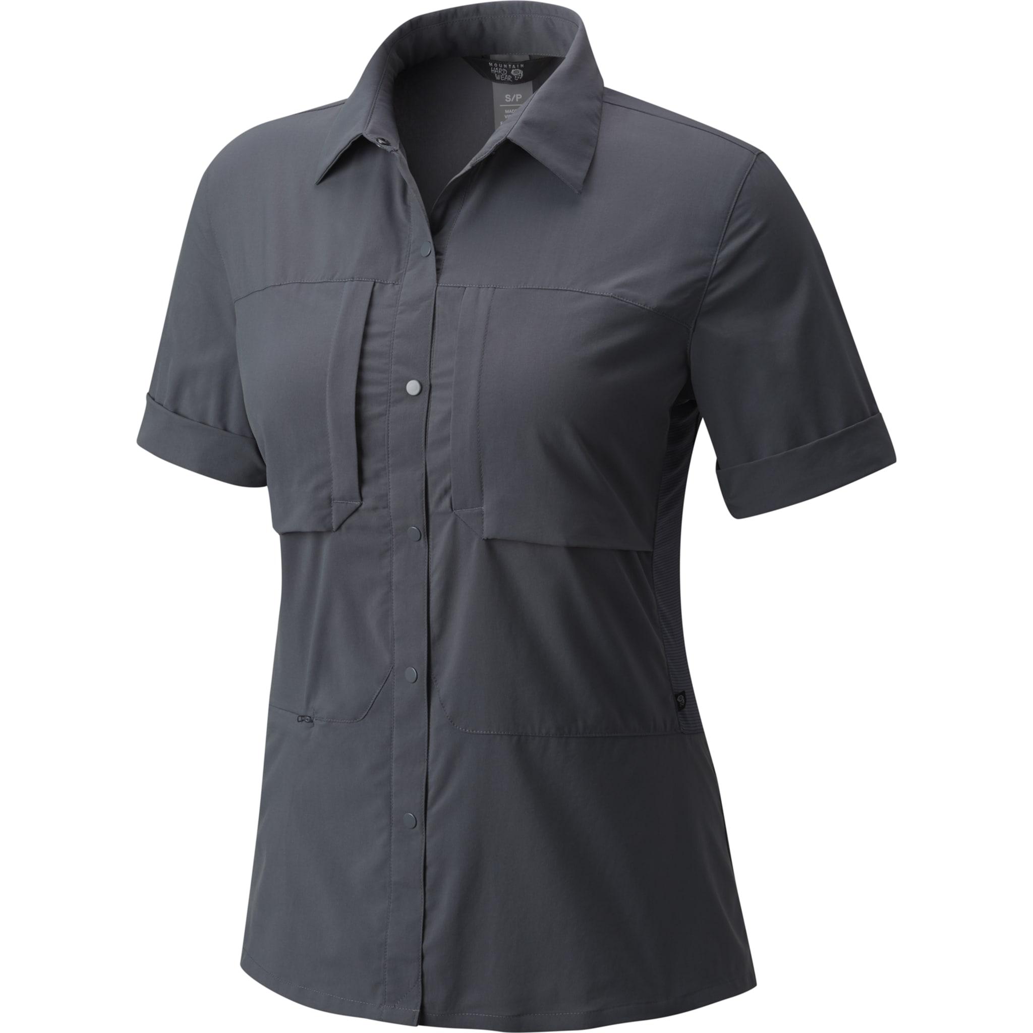 Skjorte med stretch til tur- og reisebruk