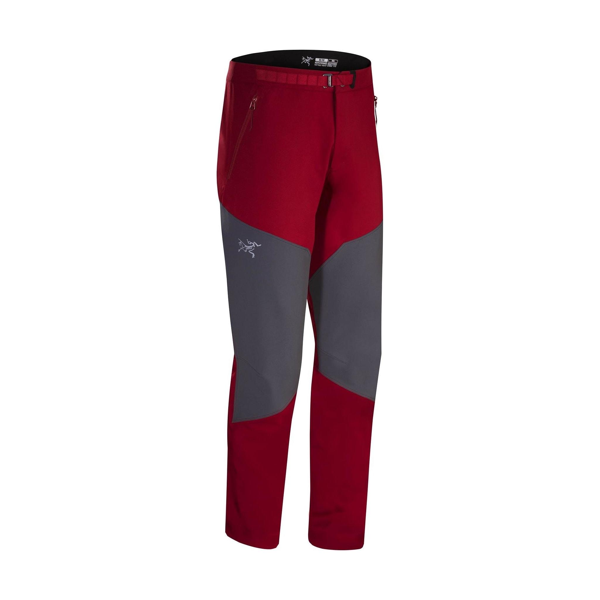 Softshellbukse med super passform og forsterkning på kne for fjellklatreren