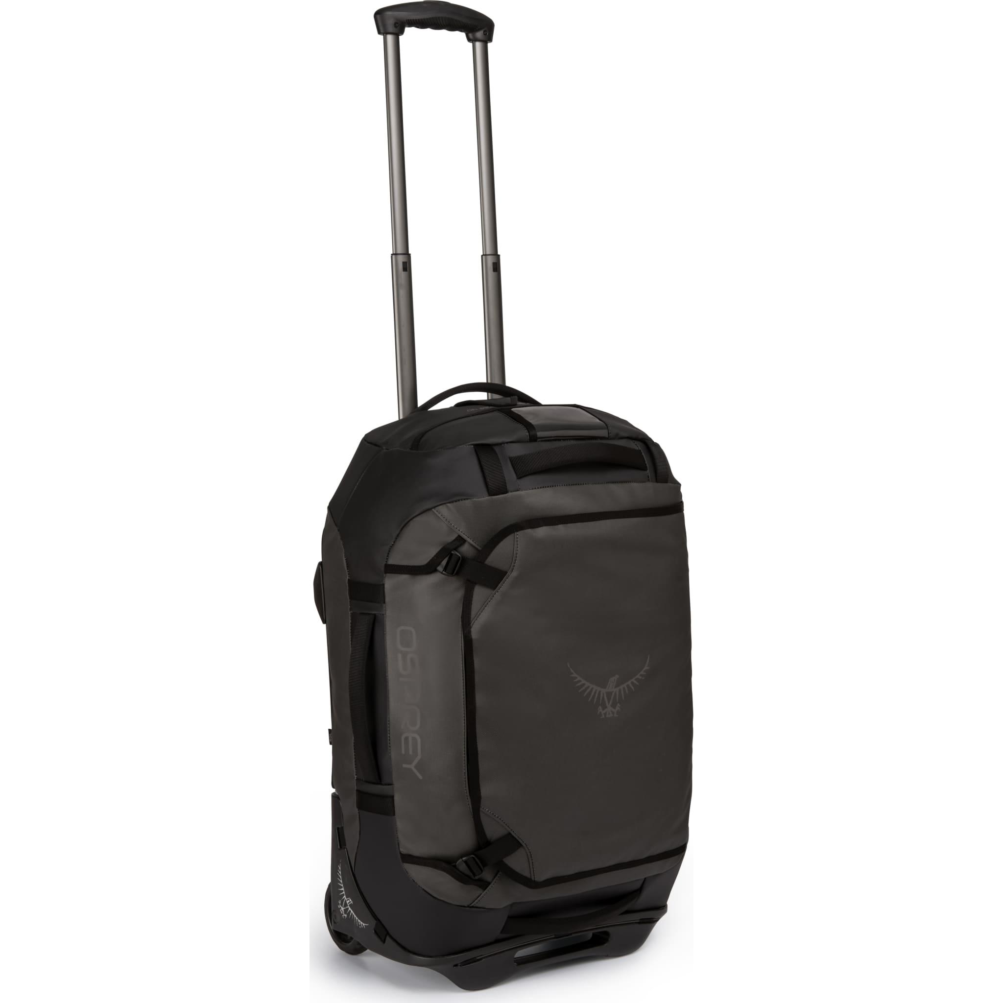 Genial kombinasjon av duffelbag og trillebag