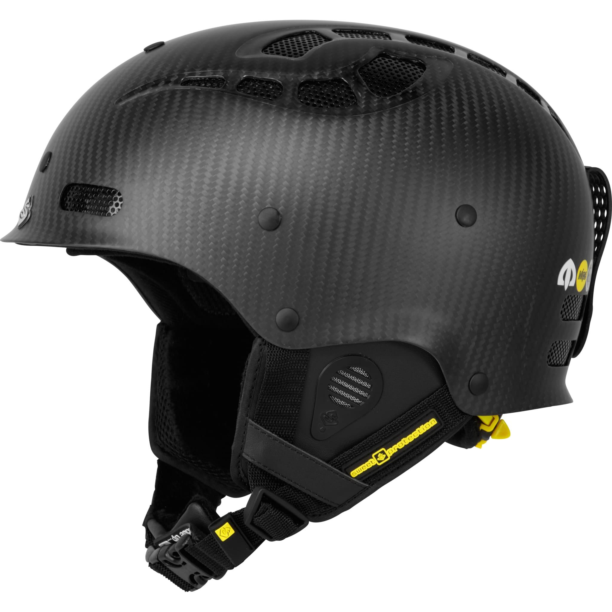 Frikjøringshjelm som er klargjort for hjelmkamera