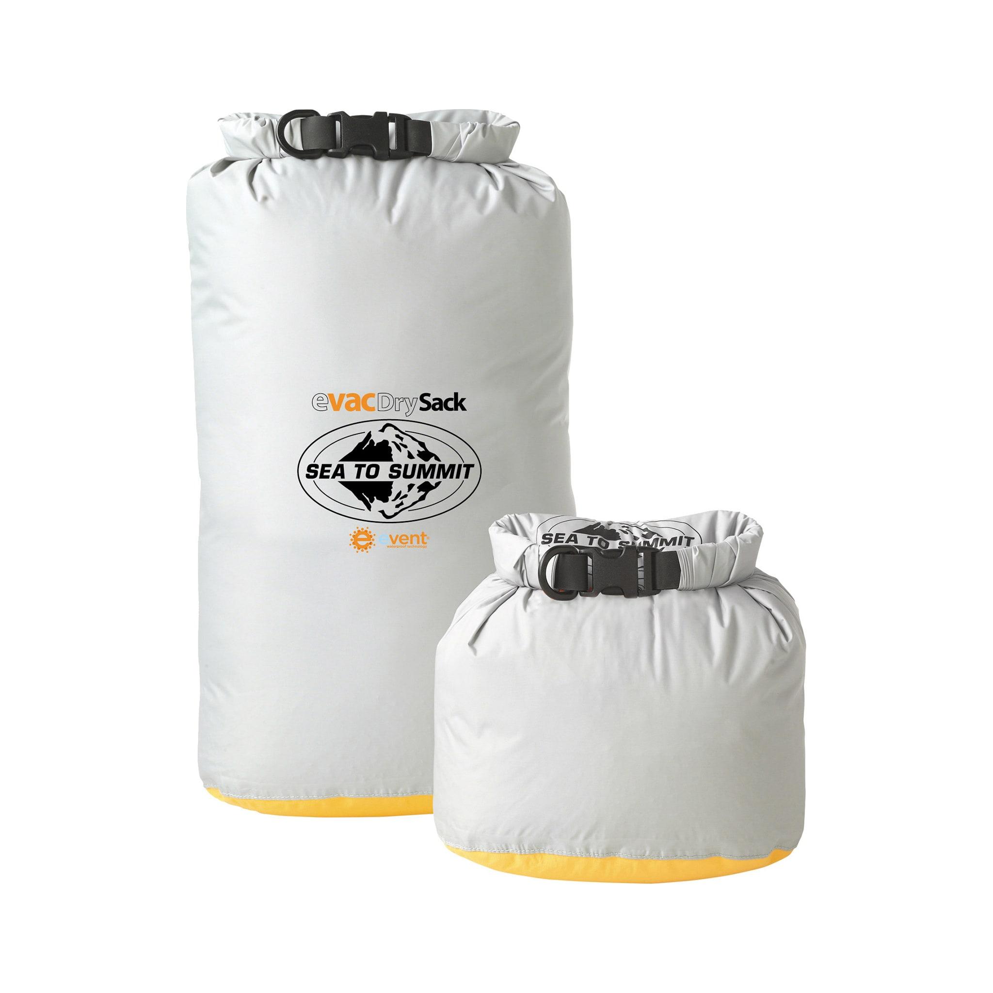eVent® stoff som sørger for at luft og fukt kommer ut av posen, men ikke inn