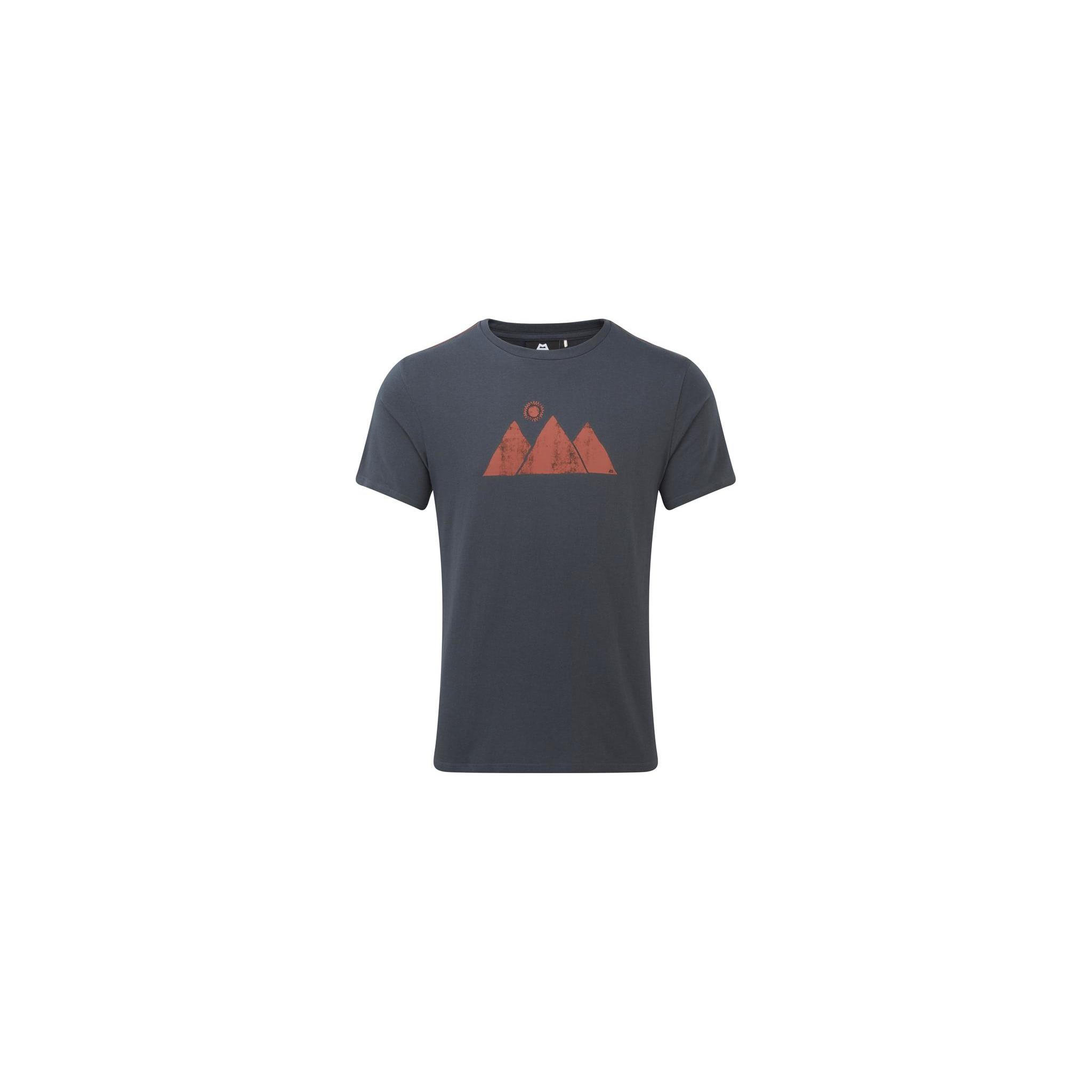 Komfortabel t-skjorte i 100% økologisk bomull
