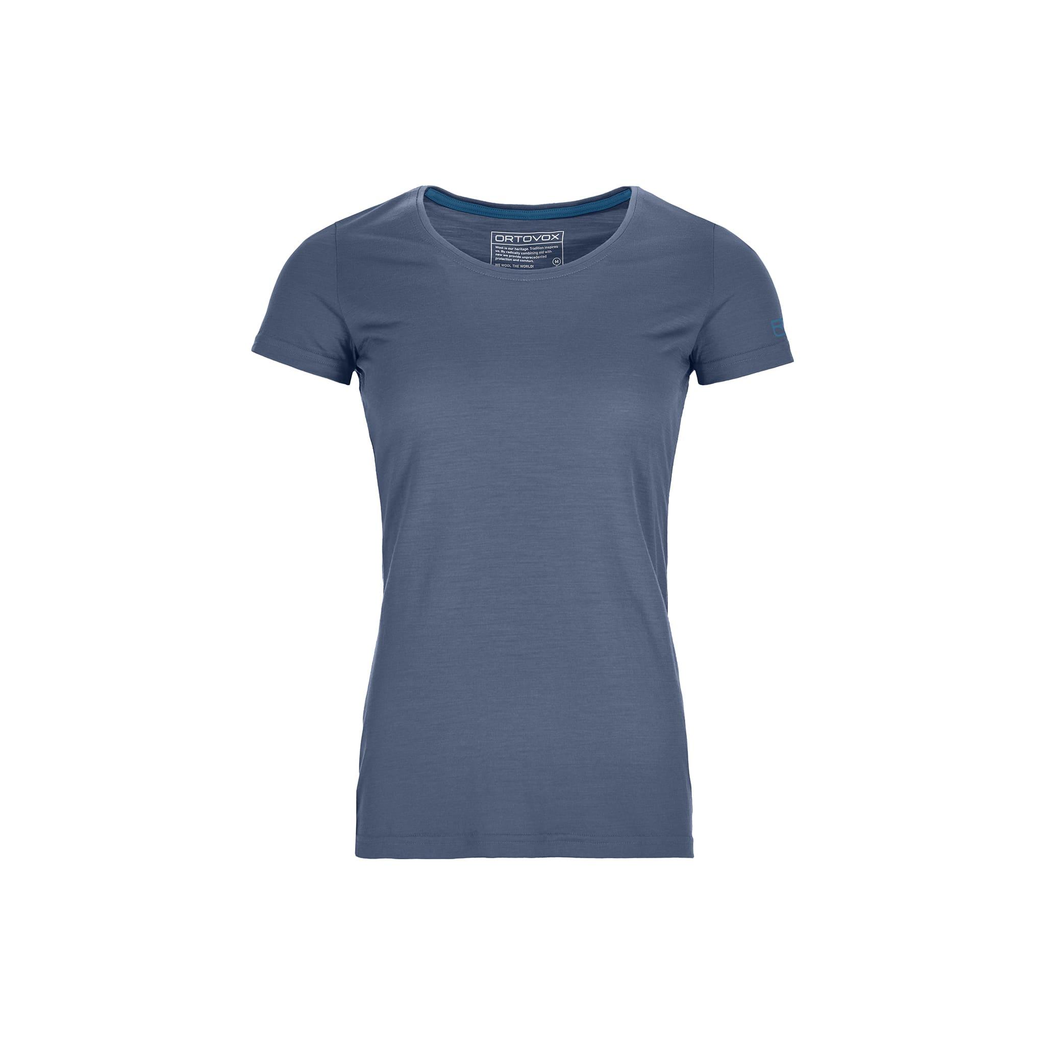 Tynn og behagelig t-skjorte i merinoull og Tencel