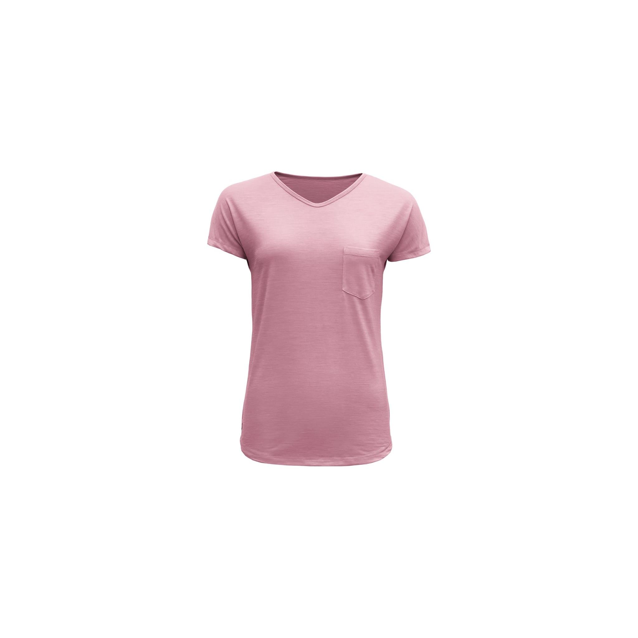 Lett og hverdagslig t-skjorte i 100% merinoull